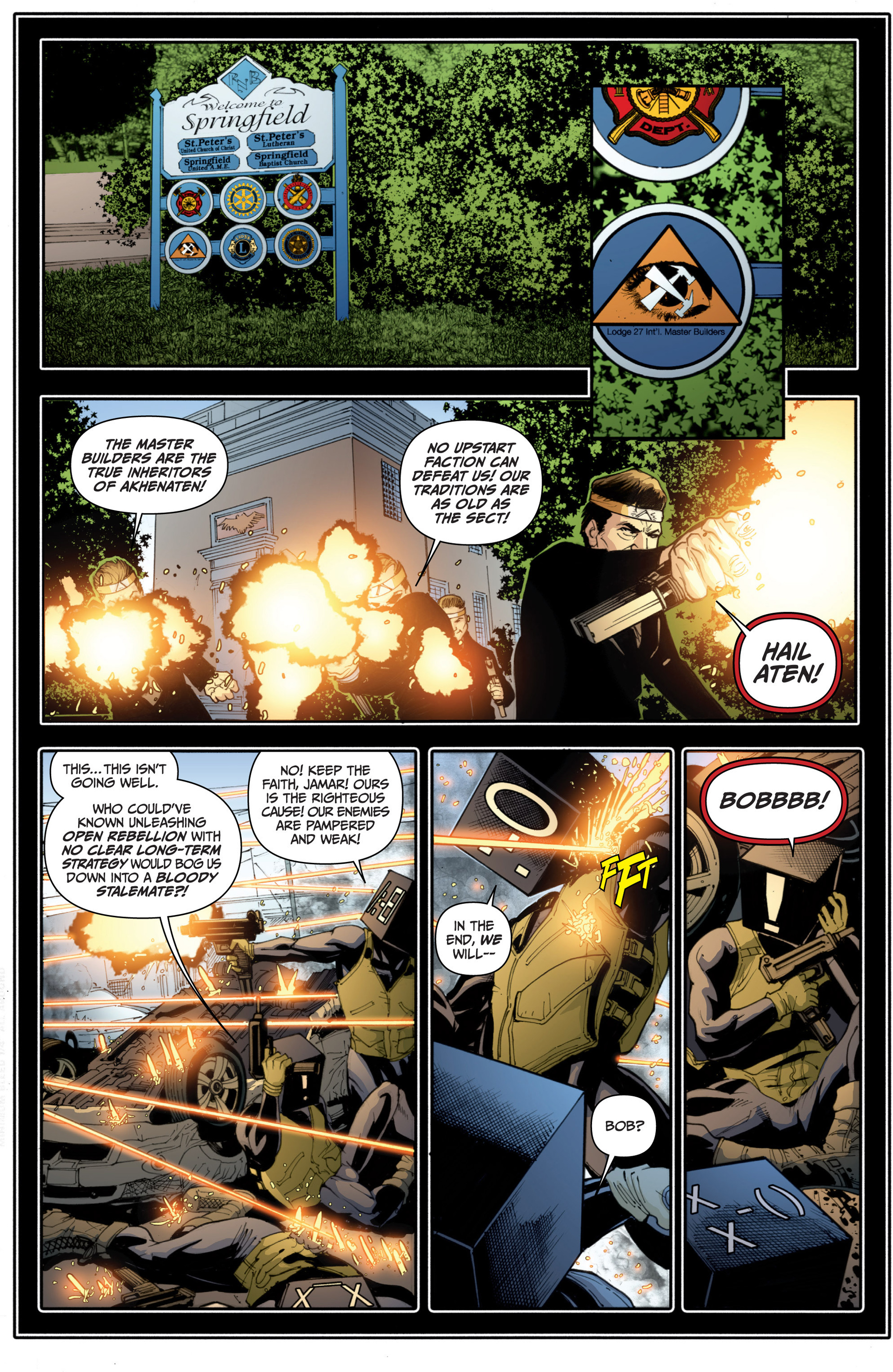 Read online Archer and Armstrong comic -  Issue #16 - 21