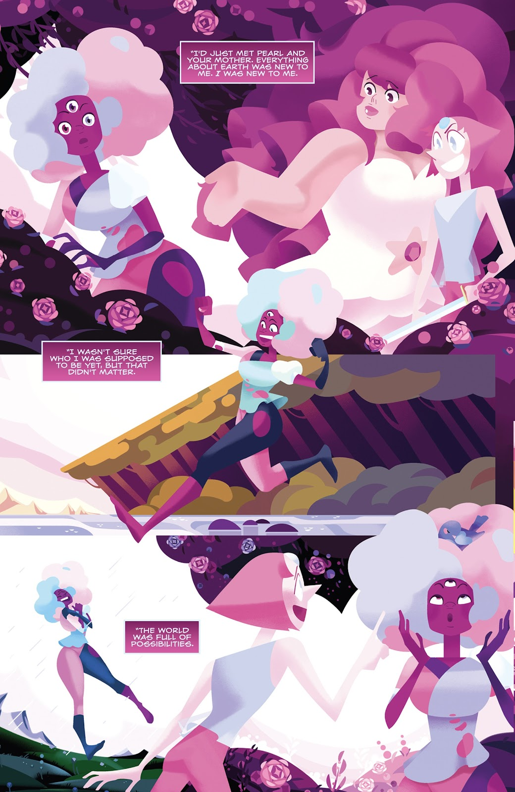 Read online Steven Universe: Fusion Frenzy comic -  Issue # Full - 12