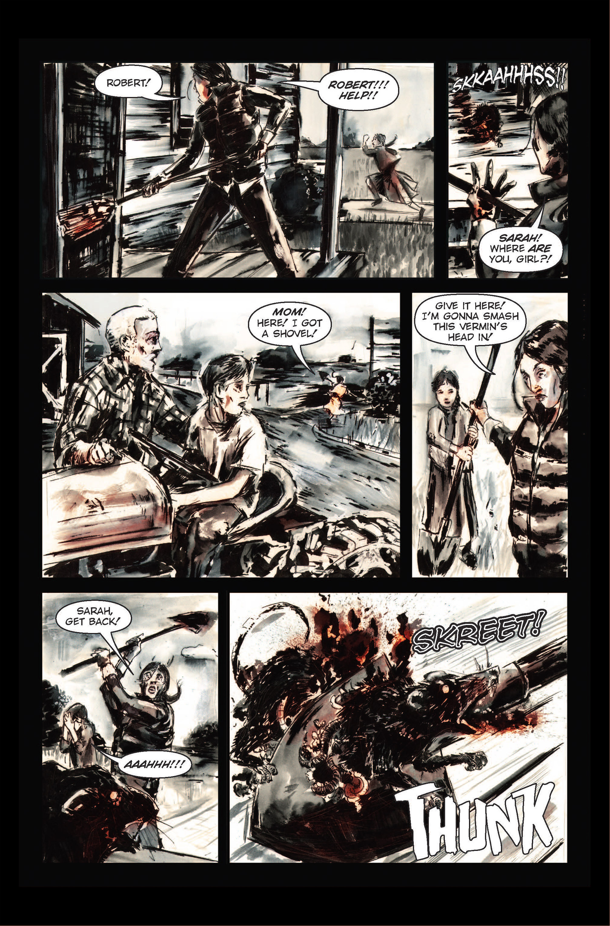 Read online The Final Plague comic -  Issue #1 - 6