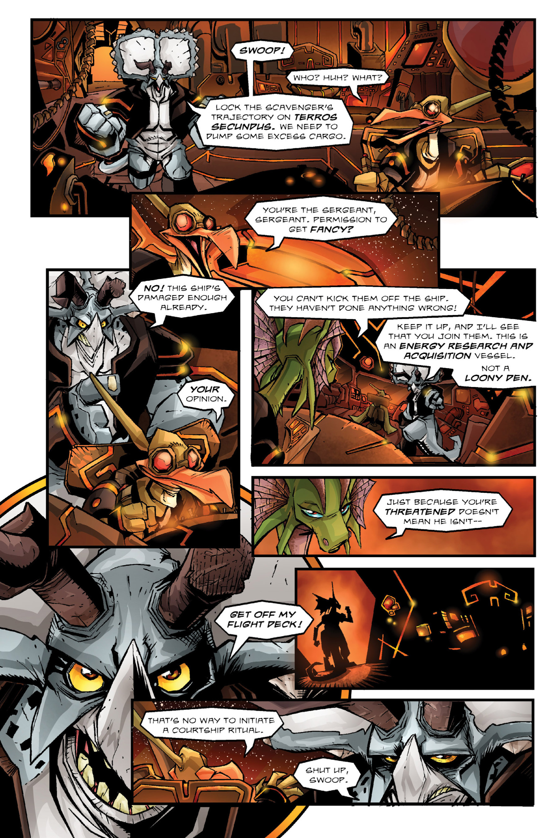 Read online Rexodus comic -  Issue # Full - 43