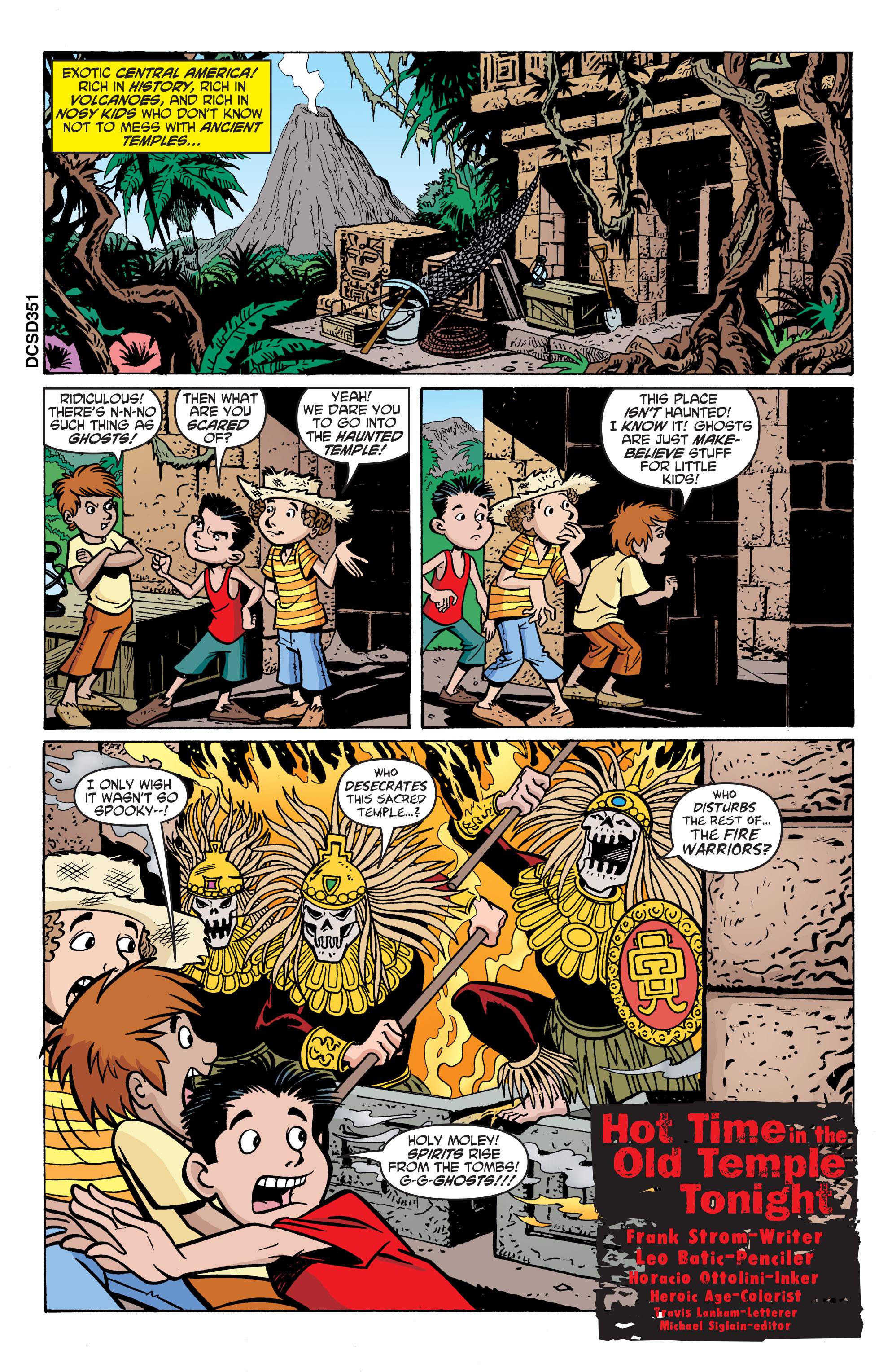 Read online Scooby-Doo: Where Are You? comic -  Issue #59 - 12