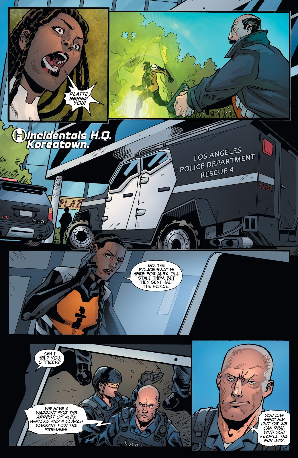Read online Incidentals comic -  Issue #18 - 14