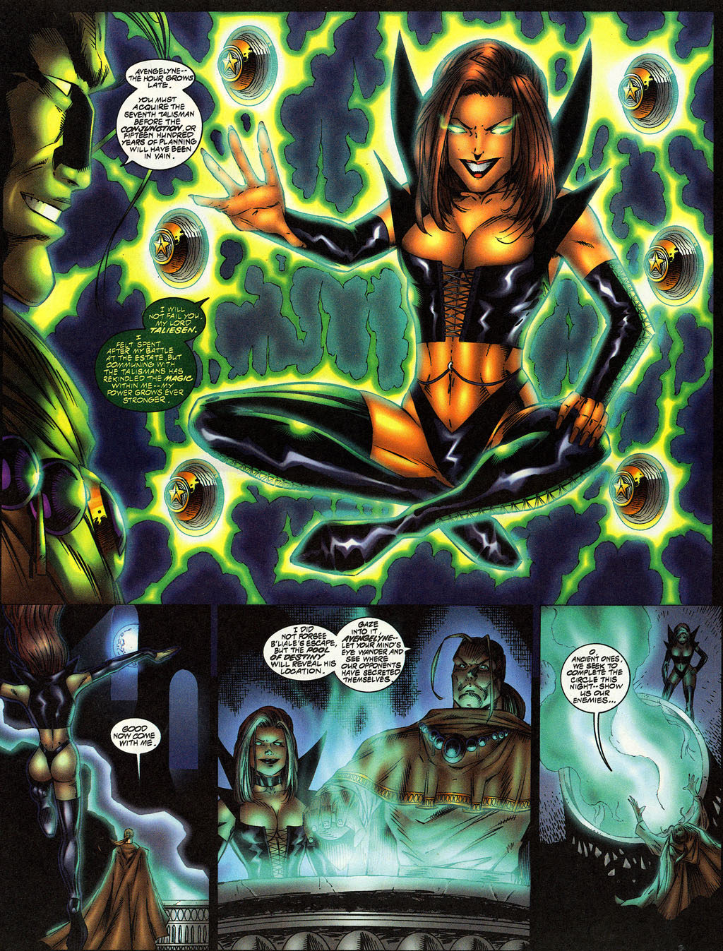 Read online Avengelyne (1996) comic -  Issue #12 - 4