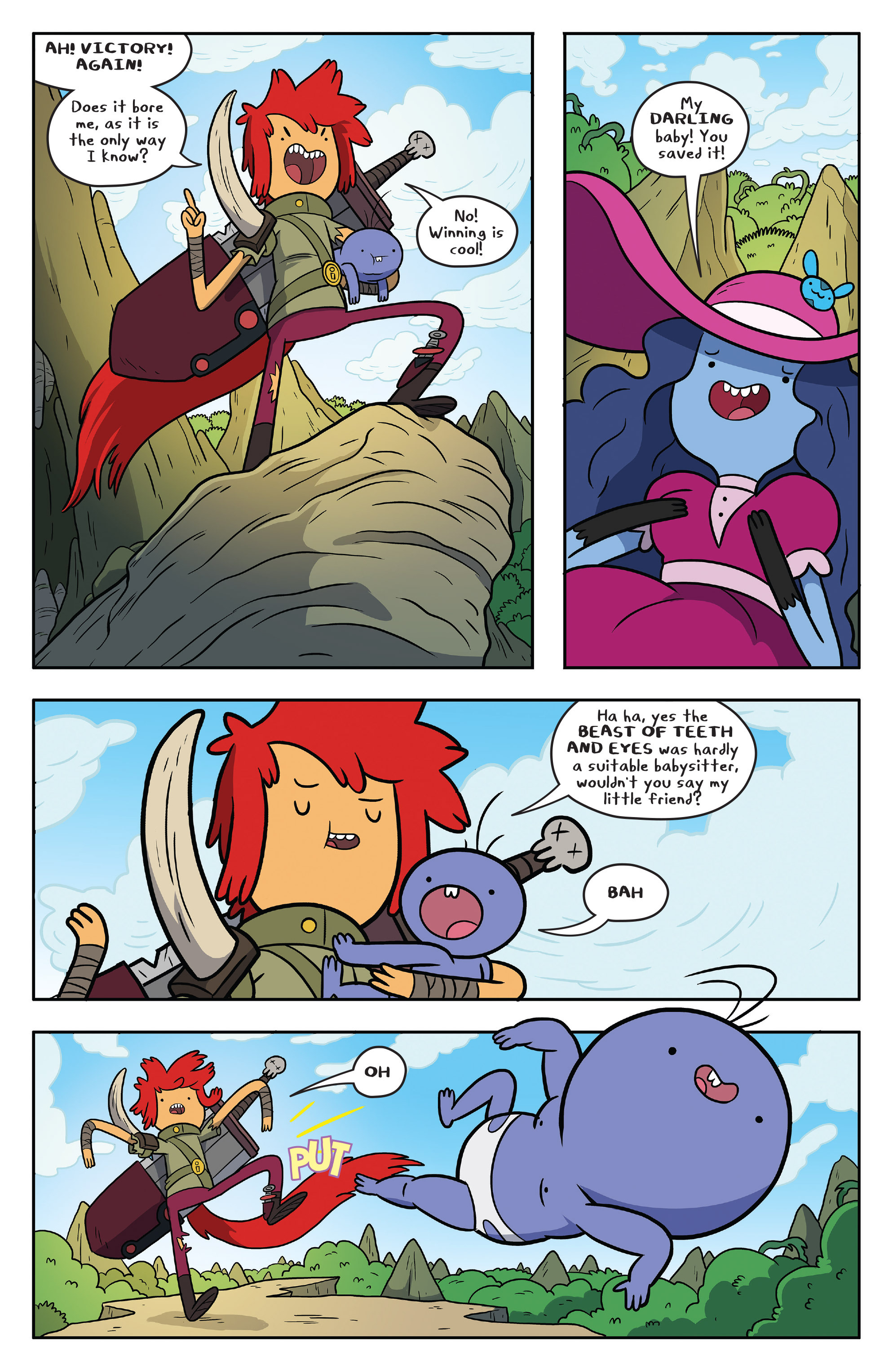 Read online Adventure Time comic -  Issue #53 - 3
