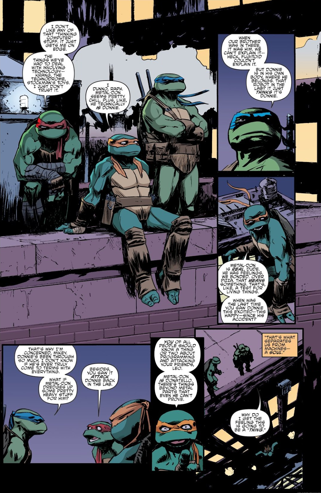 Read online Teenage Mutant Ninja Turtles: The IDW Collection comic -  Issue # TPB 8 (Part 4) - 50