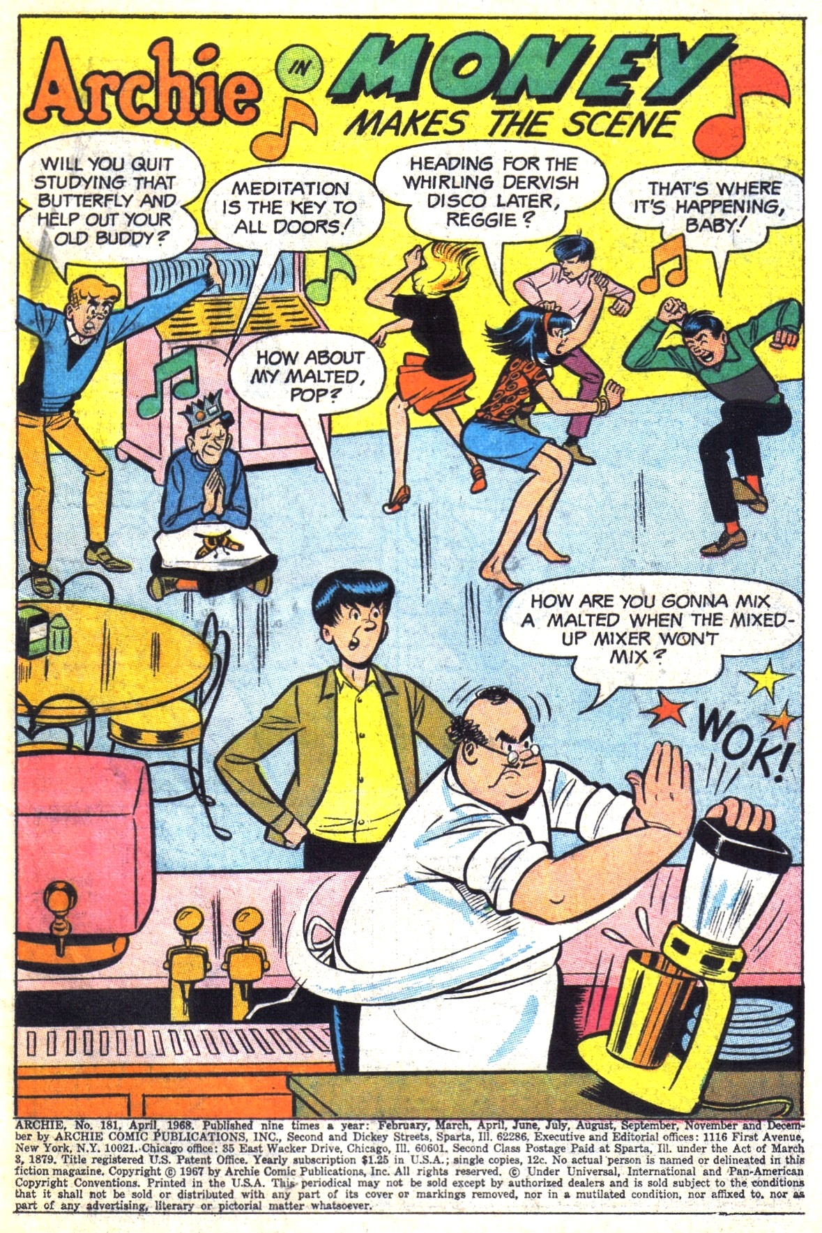 Read online Archie (1960) comic -  Issue #181 - 3