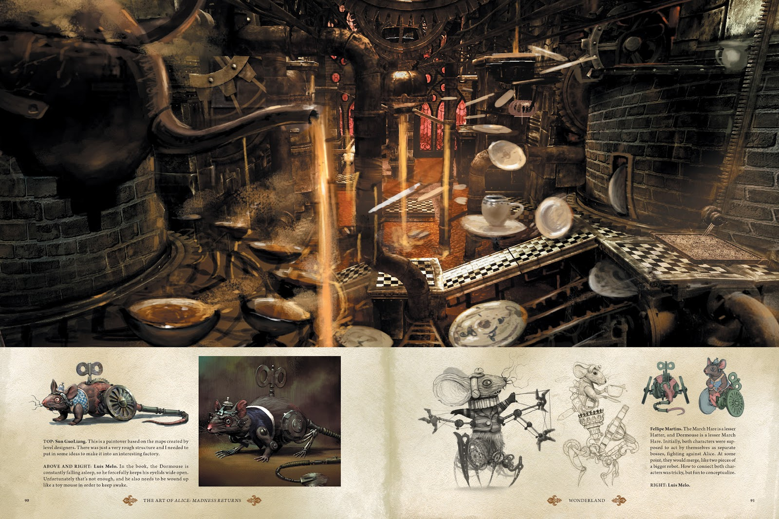 Read online The Art of Alice: Madness Returns comic -  Issue # TPB (Part 1) - 81