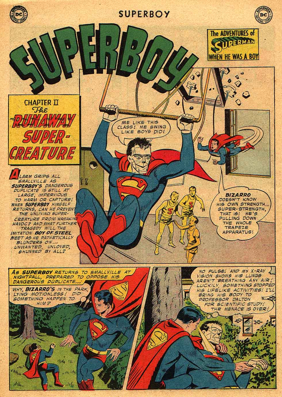 Superboy (1949) issue 68 - Page 12