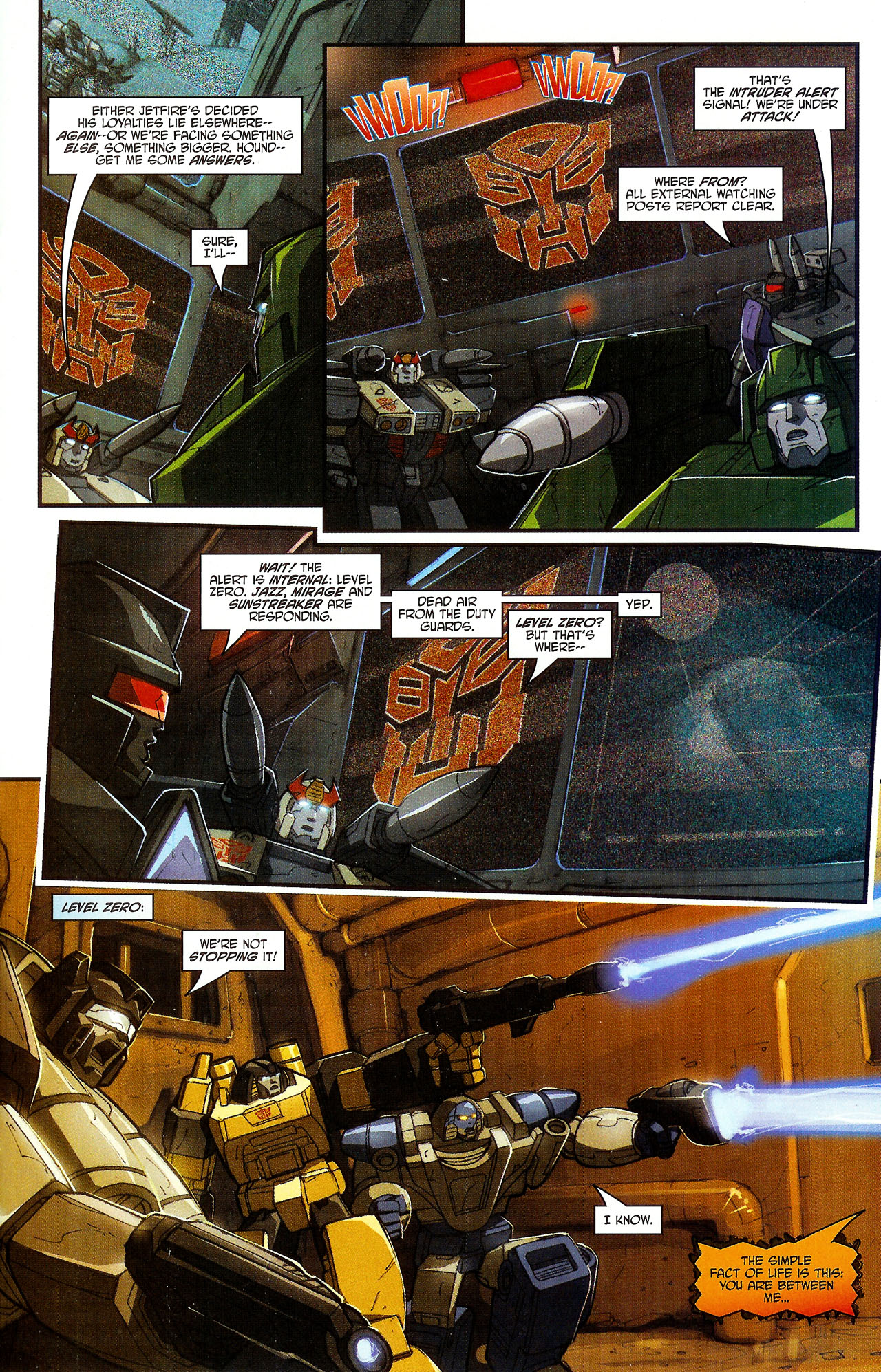 """Read online Transformers War Within: """"The Dark Ages"""" comic -  Issue #5 - 9"""