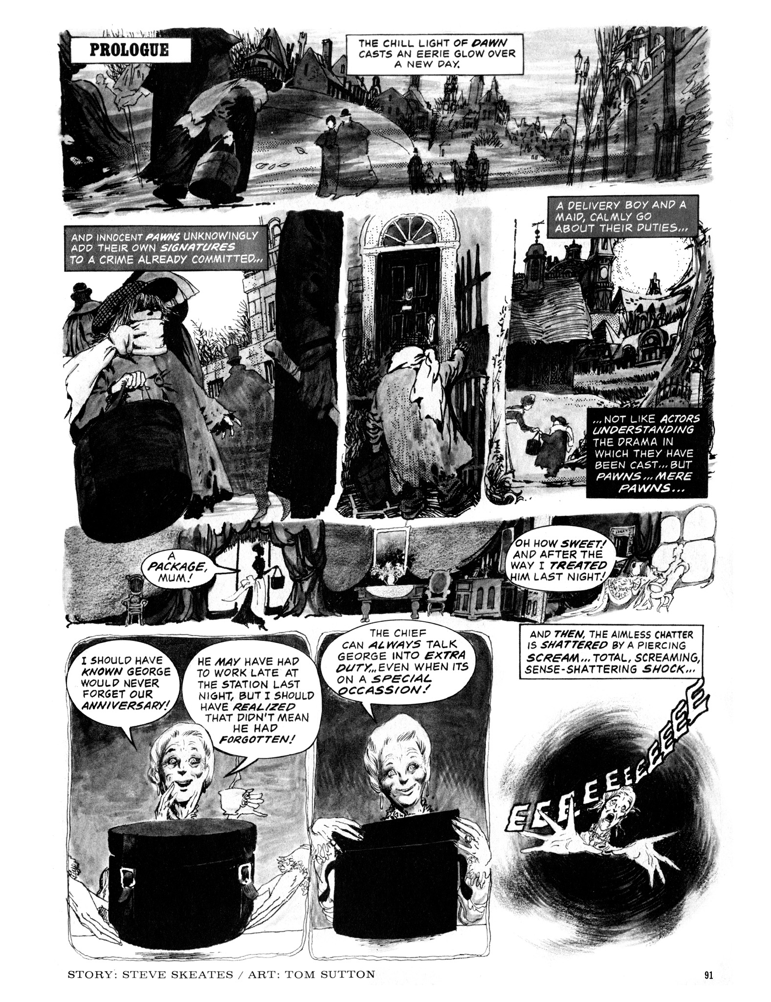 Read online Eerie Archives comic -  Issue # TPB 12 - 92