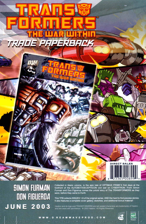 Read online Transformers Armada comic -  Issue #10 - 33