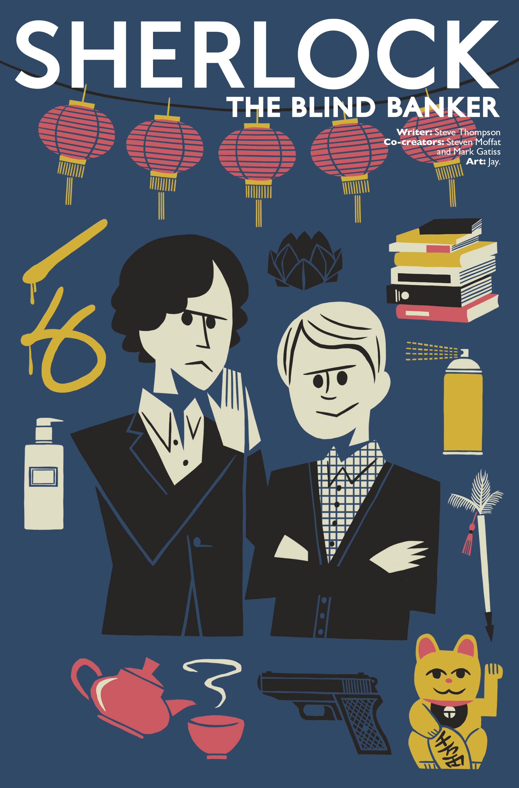 Read online Sherlock: The Blind Banker comic -  Issue #3 - 5