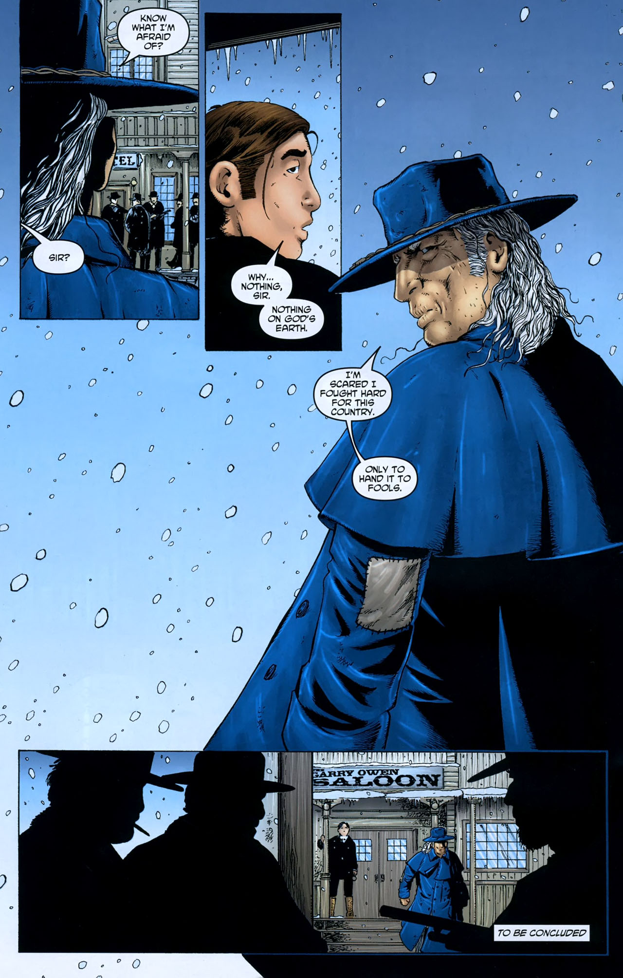 Read online Garth Ennis' Streets of Glory comic -  Issue #5 - 24