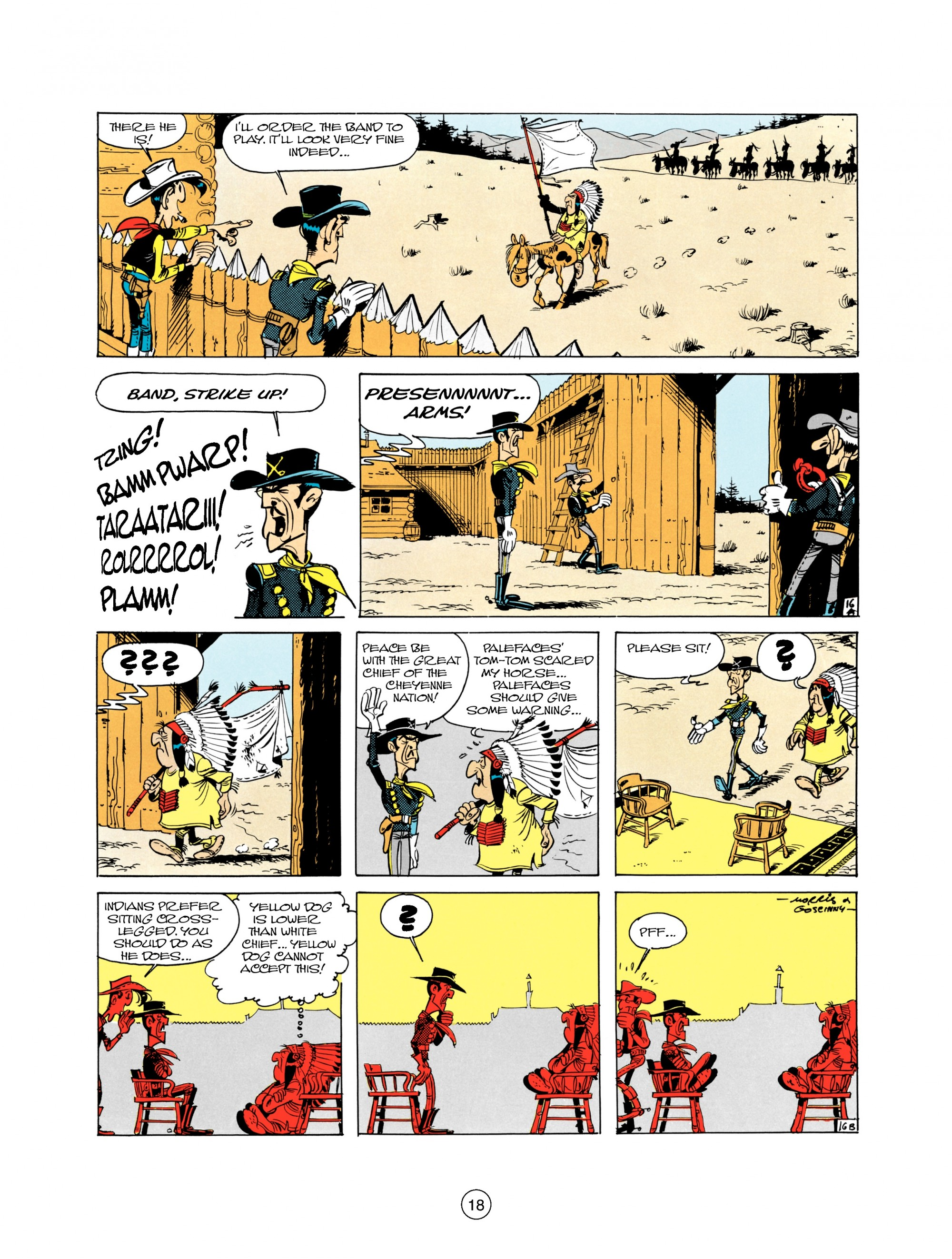 Read online A Lucky Luke Adventure comic -  Issue #21 - 18