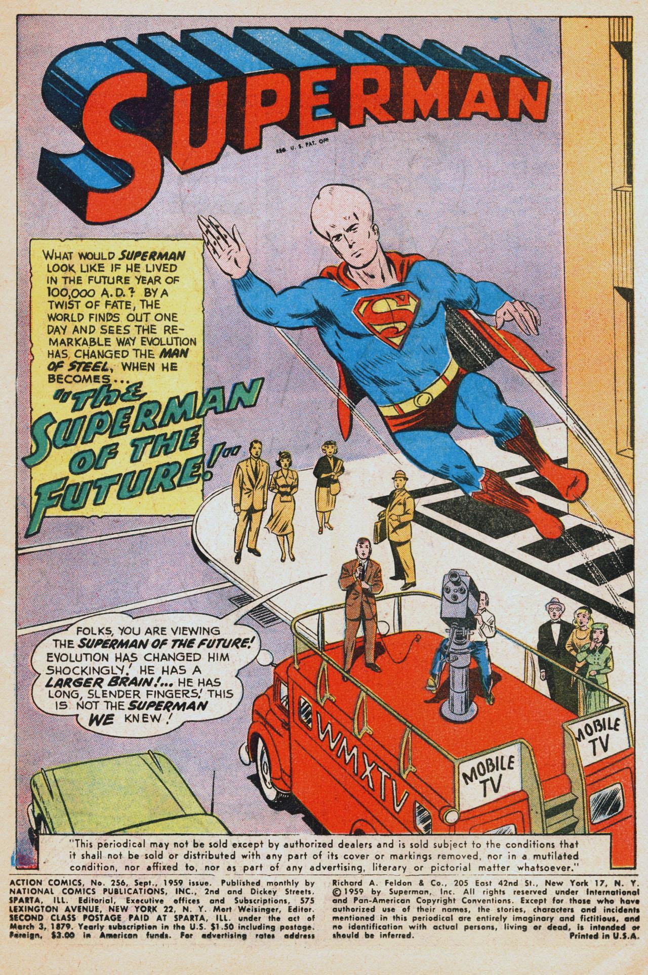 Action Comics (1938) 256 Page 2