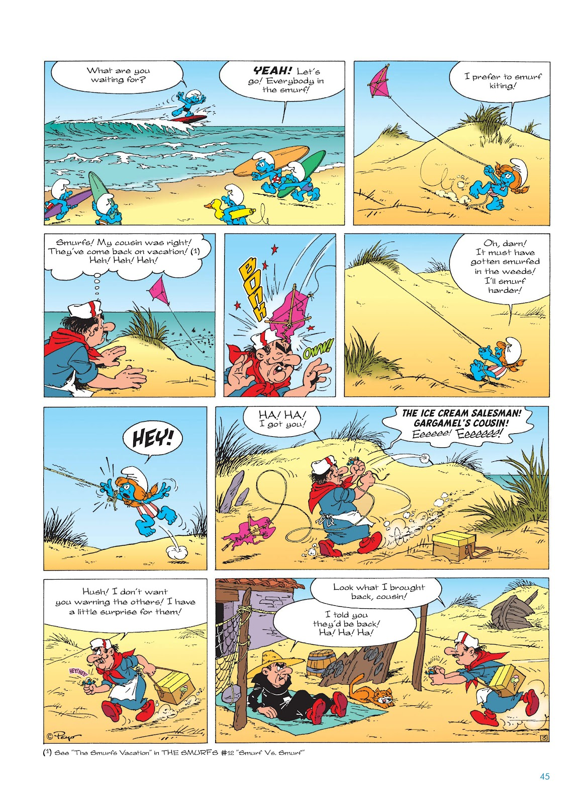 Read online The Smurfs comic -  Issue #17 - 45