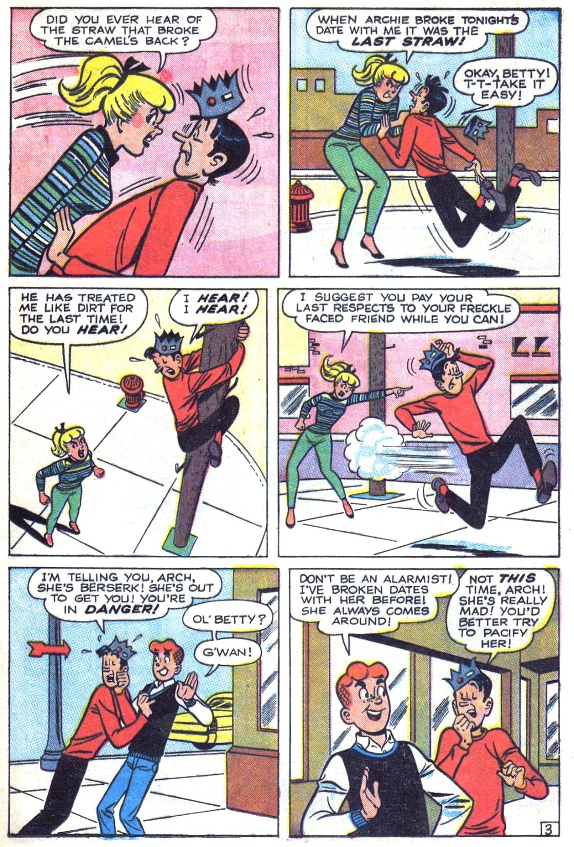Read online Archie (1960) comic -  Issue #156 - 5