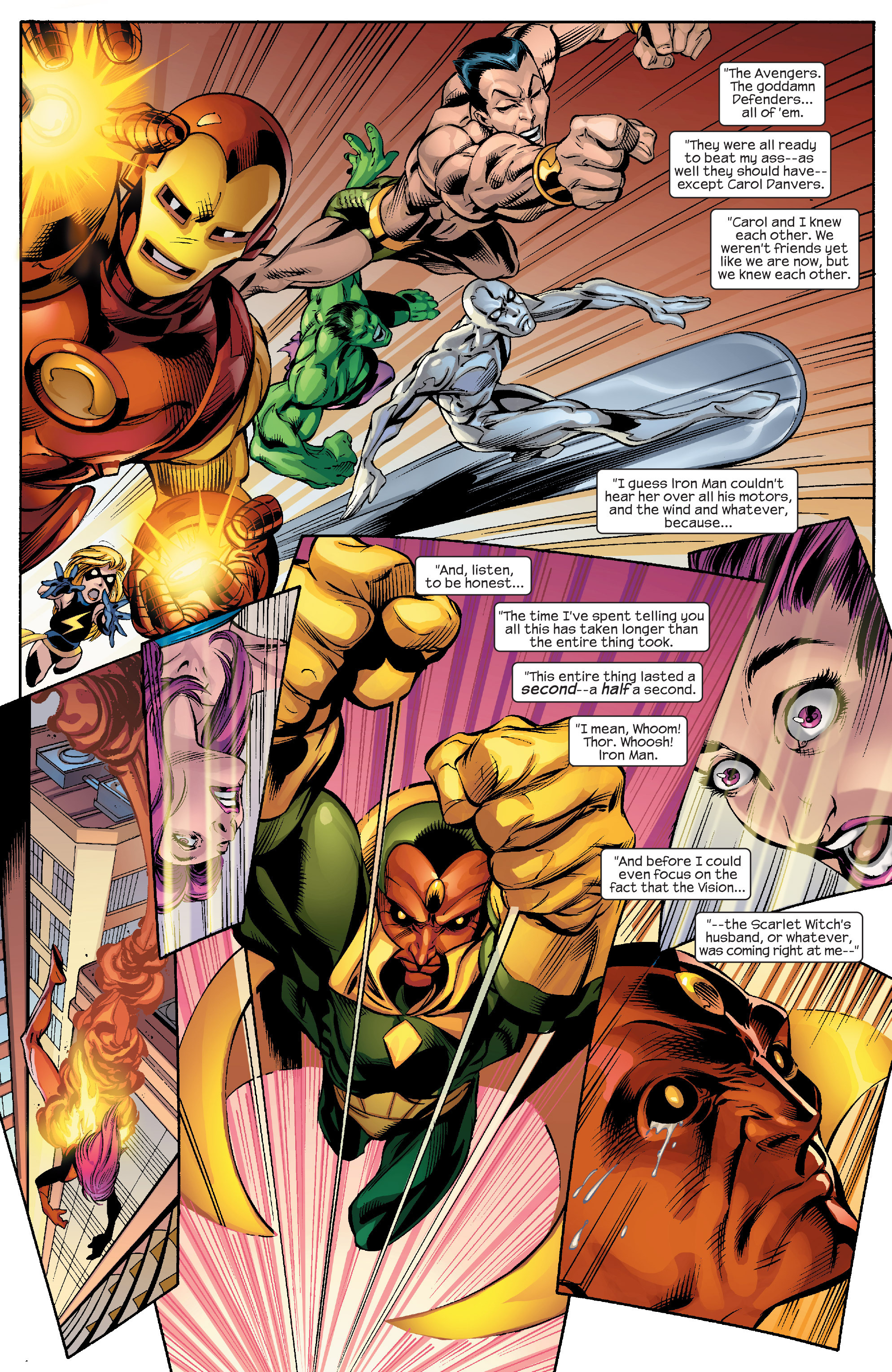 Read online Alias comic -  Issue #26 - 5