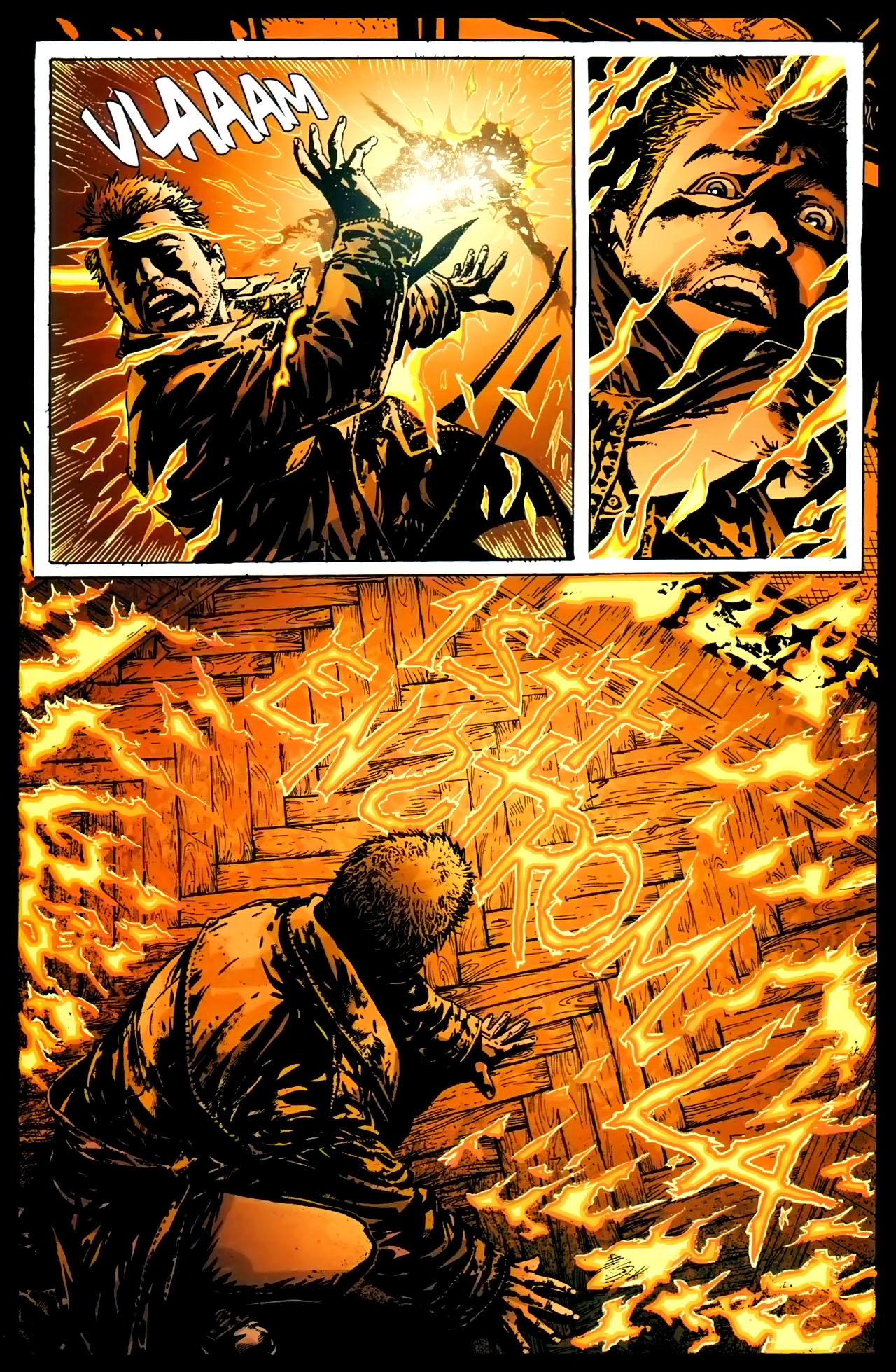 Read online John Constantine Hellblazer: All His Engines comic -  Issue # Full - 30
