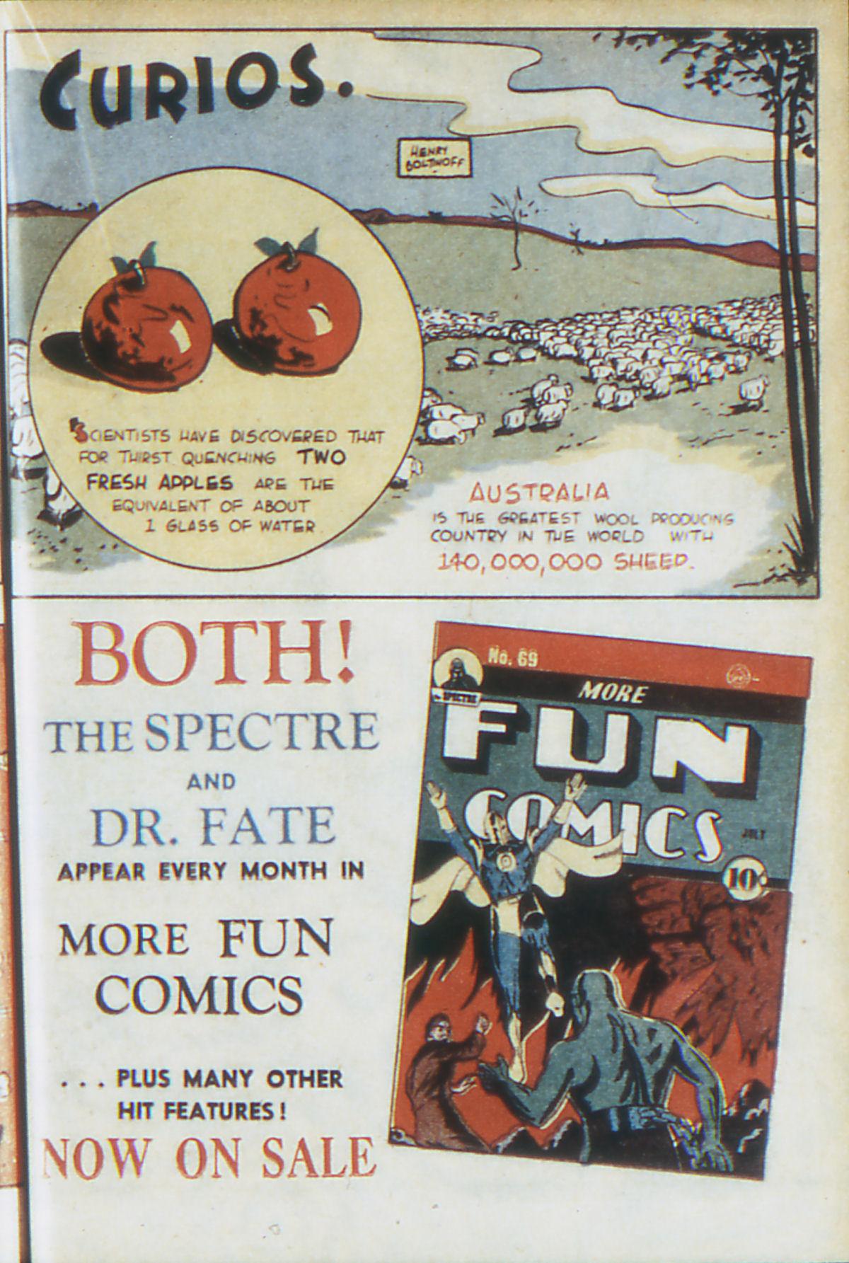 Read online Adventure Comics (1938) comic -  Issue #64 - 32