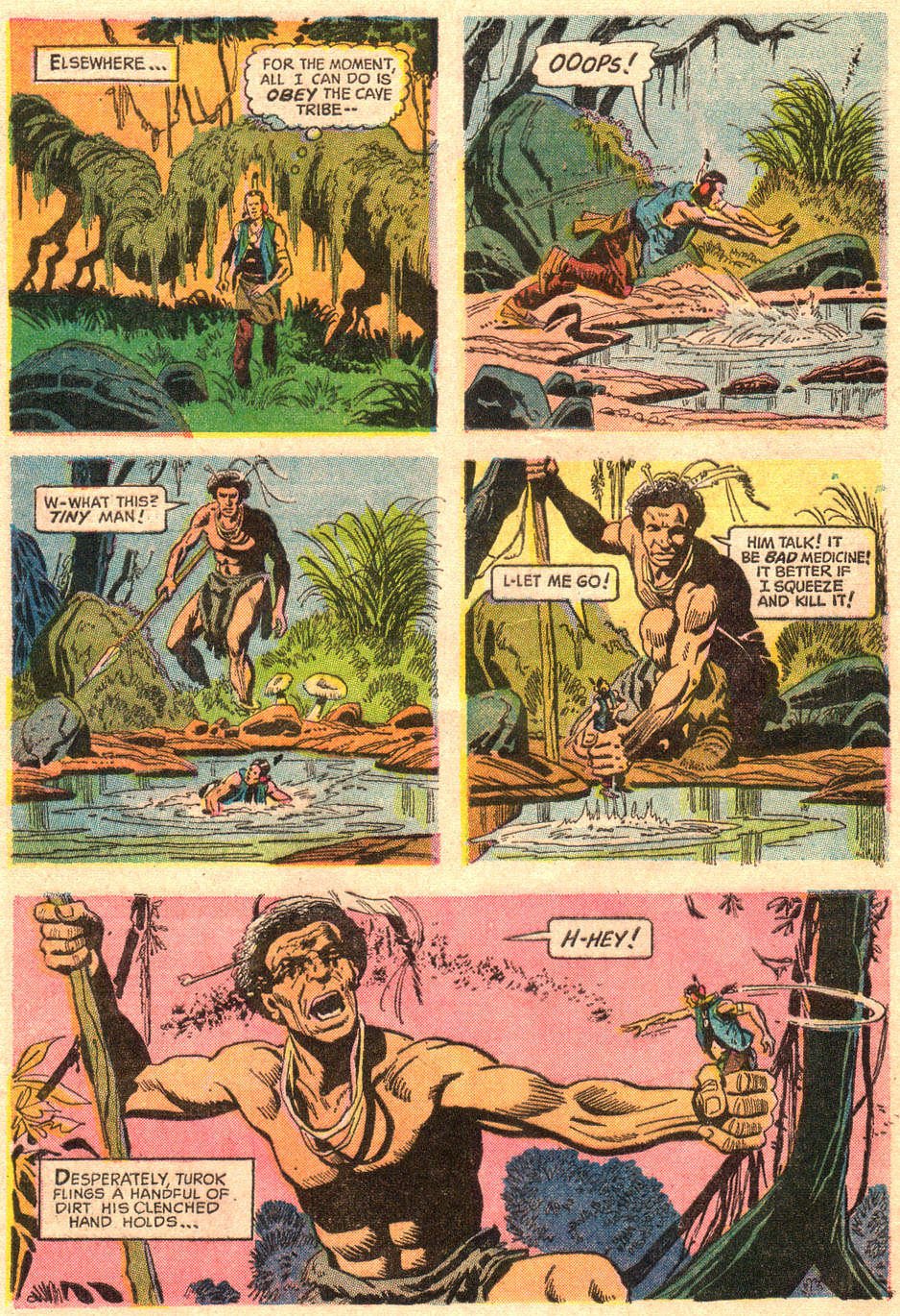 Read online Turok, Son of Stone comic -  Issue #67 - 28