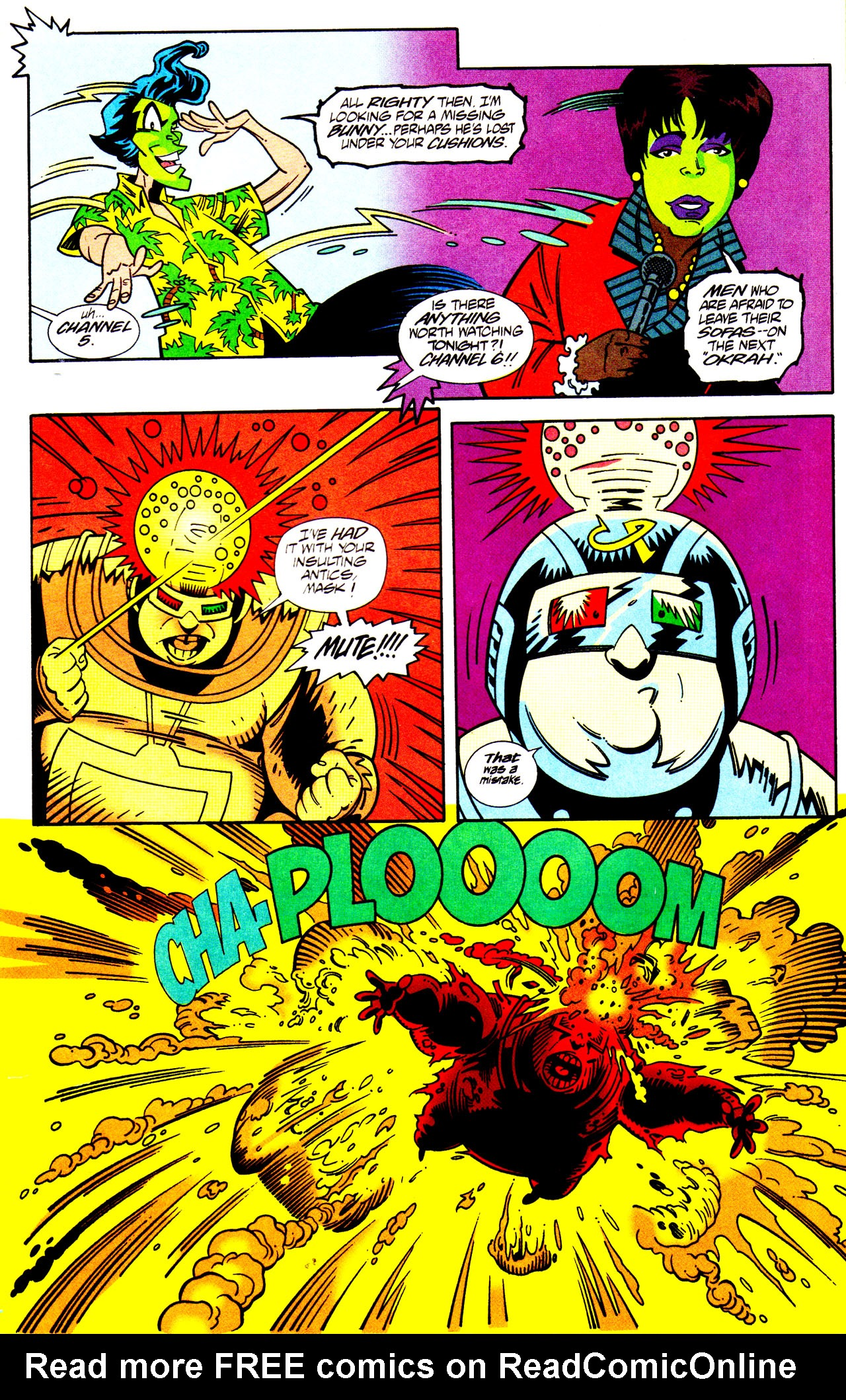 Read online Adventures Of The Mask comic -  Issue #7 - 23