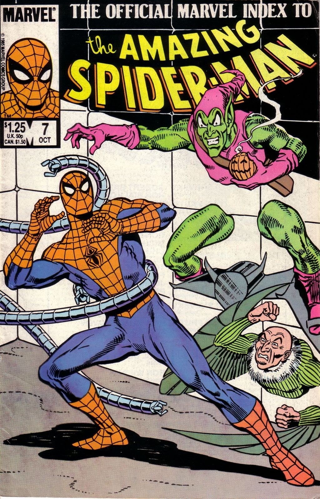 The Official Marvel Index to The Amazing Spider-Man 7 Page 1