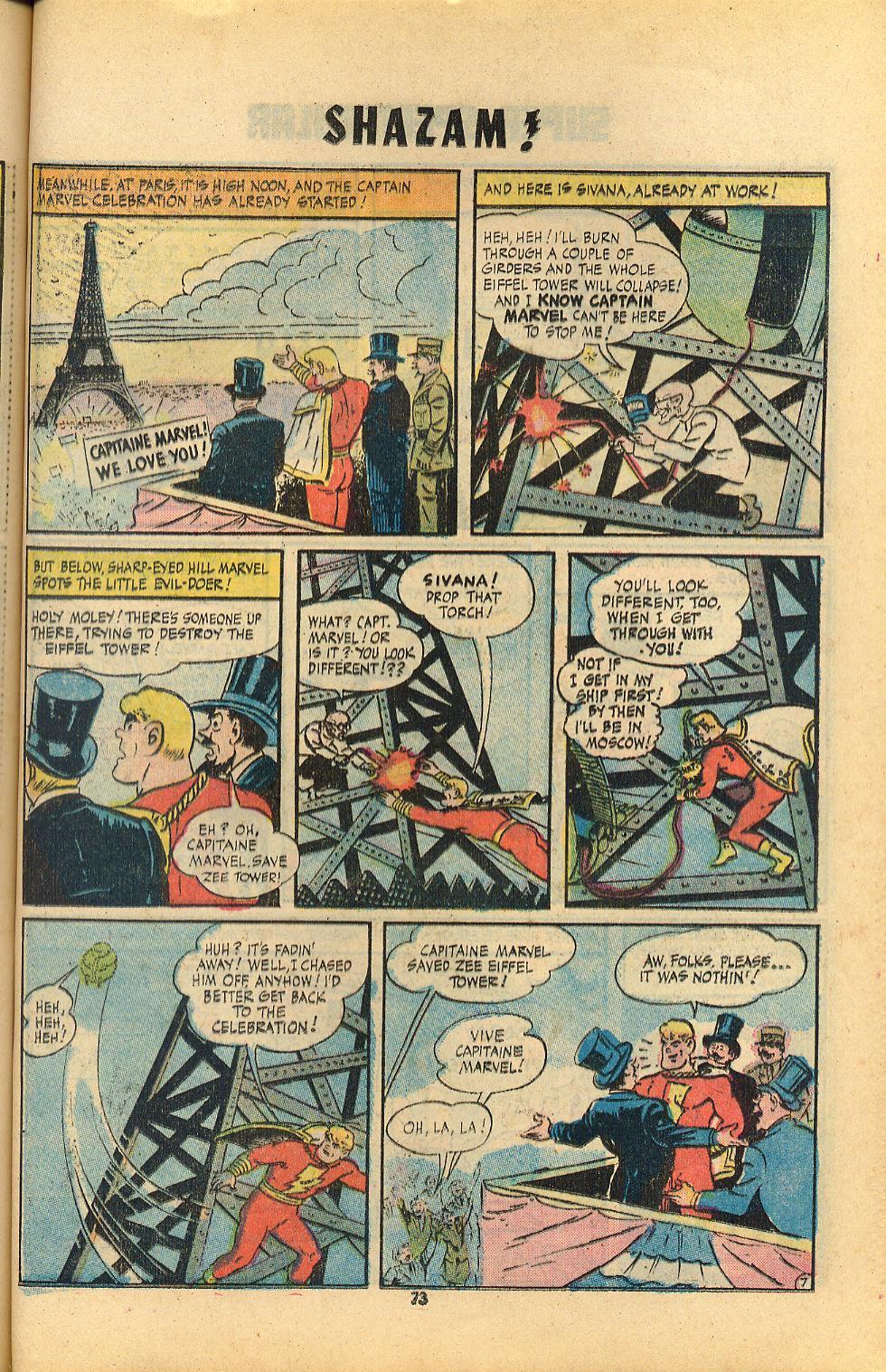 Read online Shazam! (1973) comic -  Issue #8 - 73