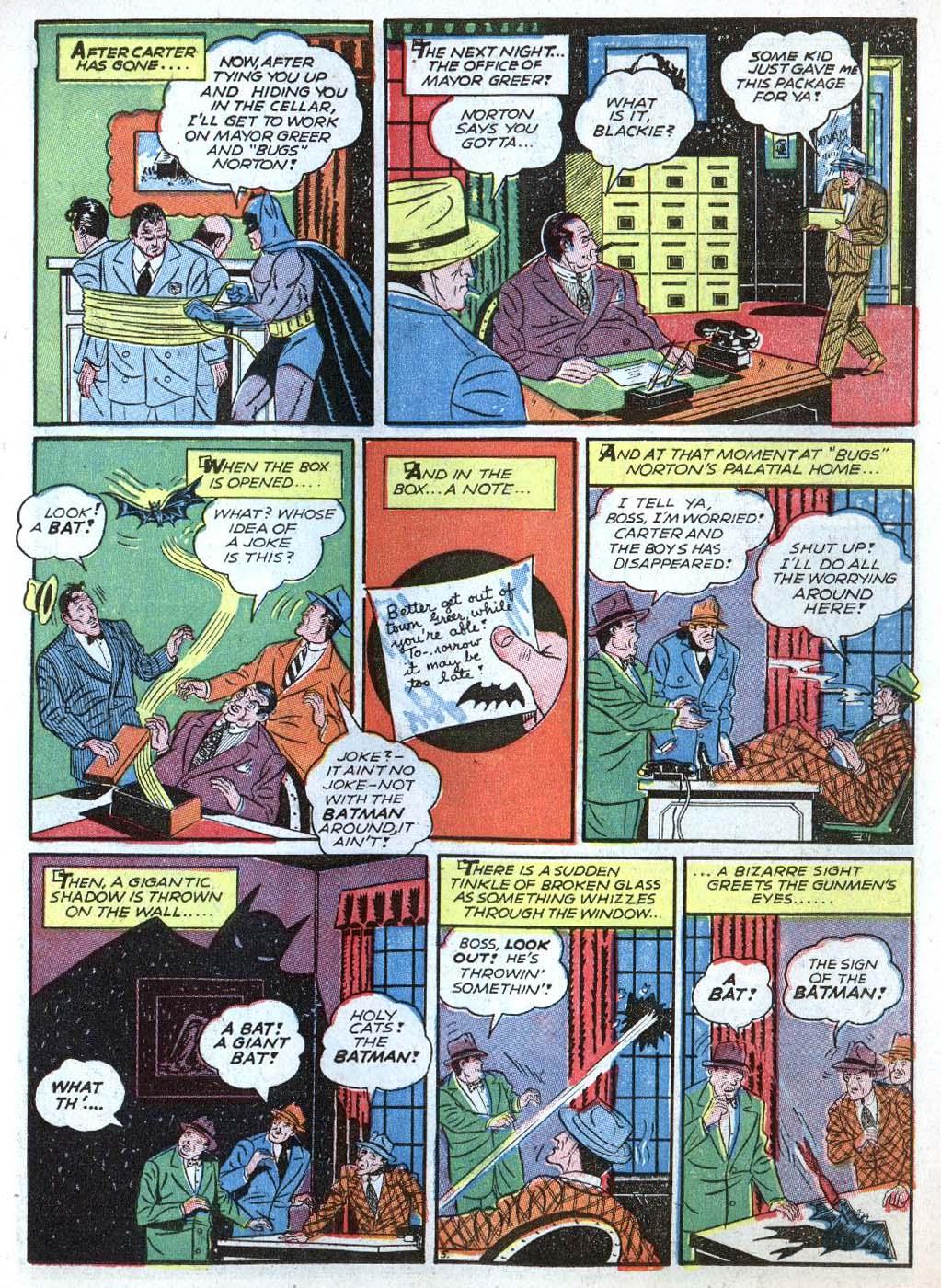 Read online Detective Comics (1937) comic -  Issue #43 - 7