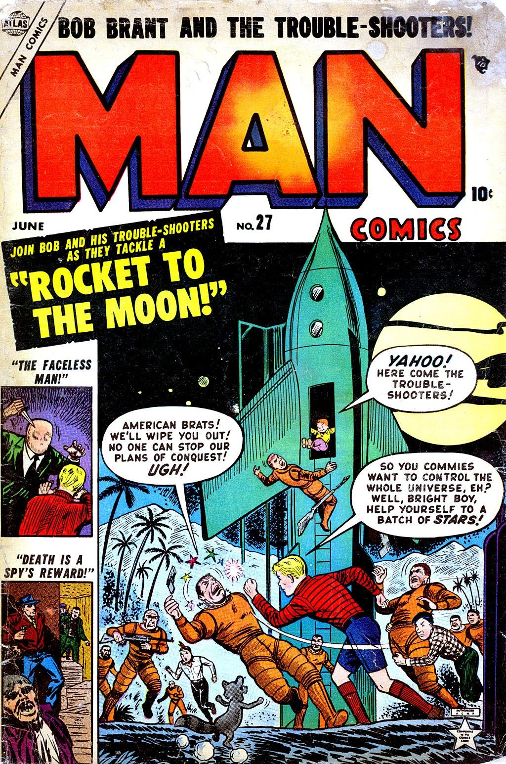 Man Comics 27 Page 1