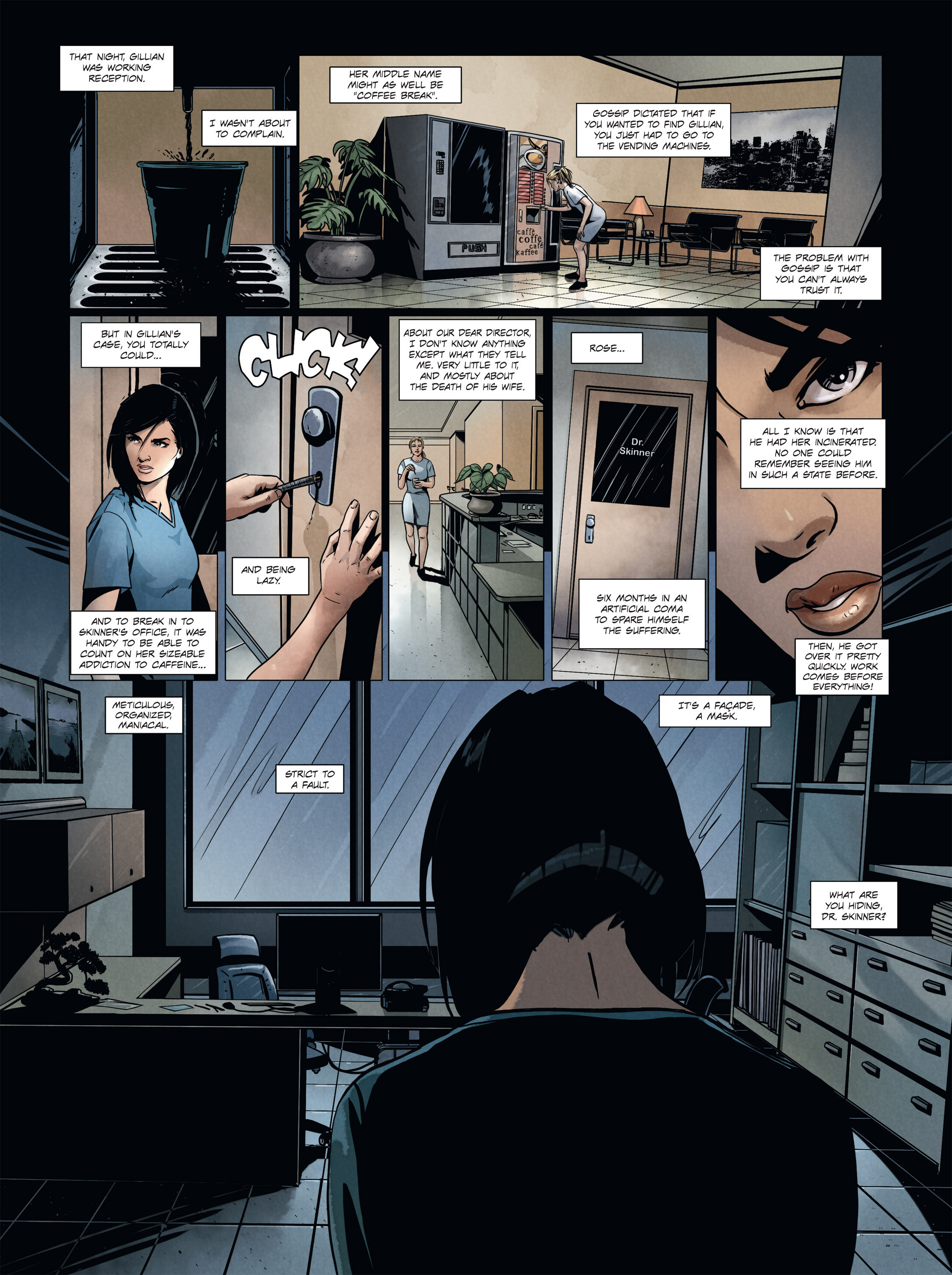 Read online Alice Matheson comic -  Issue #4 - 26