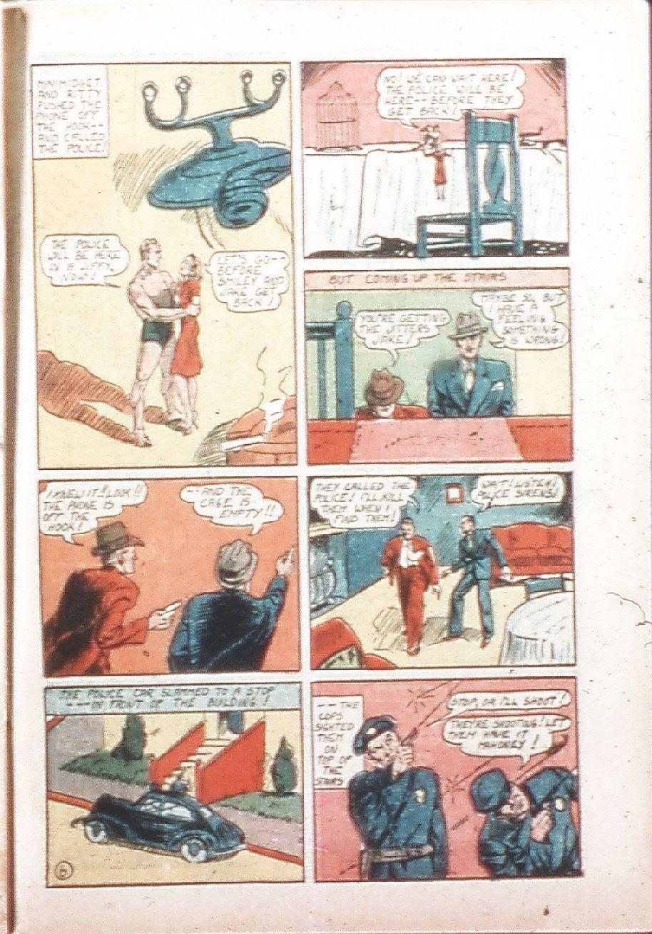 Read online Amazing Man Comics comic -  Issue #9 - 42