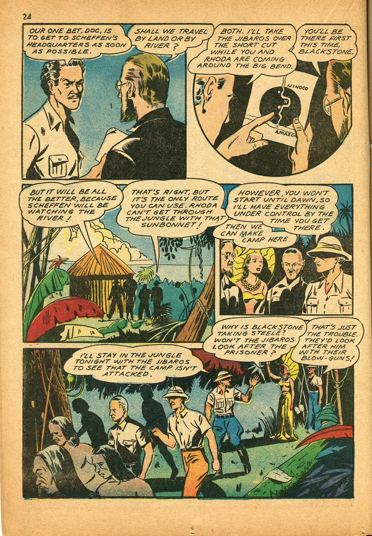 Read online Super-Magician Comics comic -  Issue #9 - 24