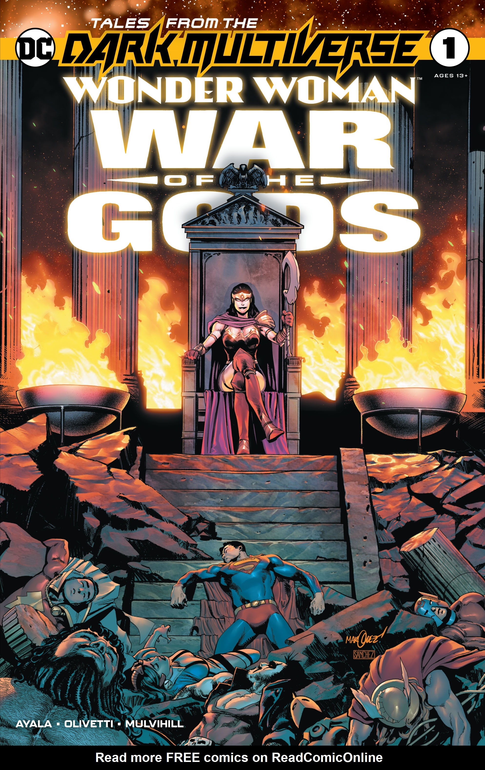 Tales From the Dark Multiverse: Wonder Woman: War of the Gods Full Page 1