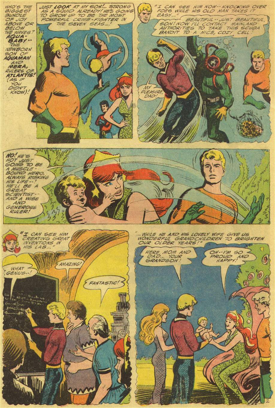 Read online Aquaman (1962) comic -  Issue #25 - 4