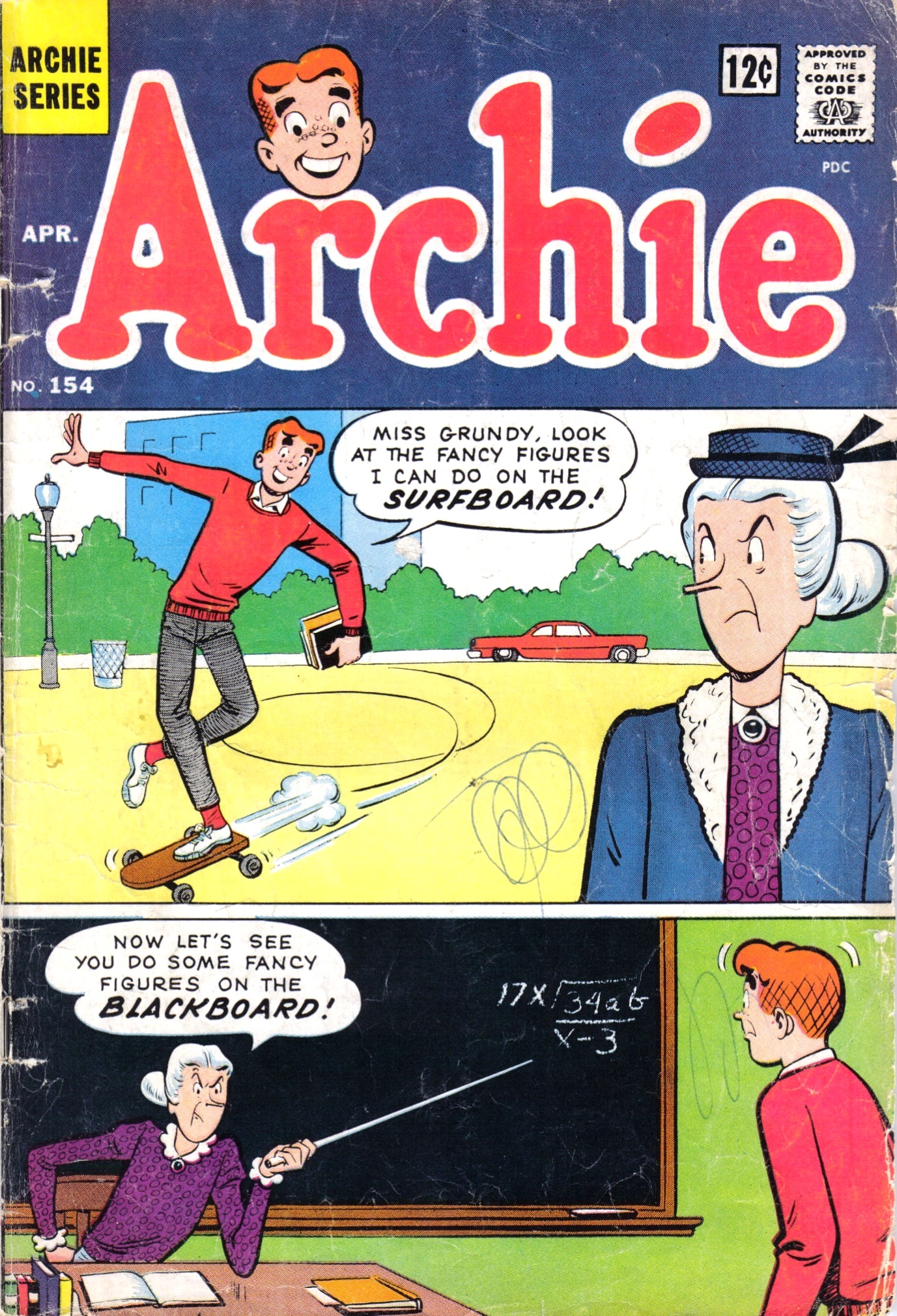 Read online Archie (1960) comic -  Issue #154 - 1