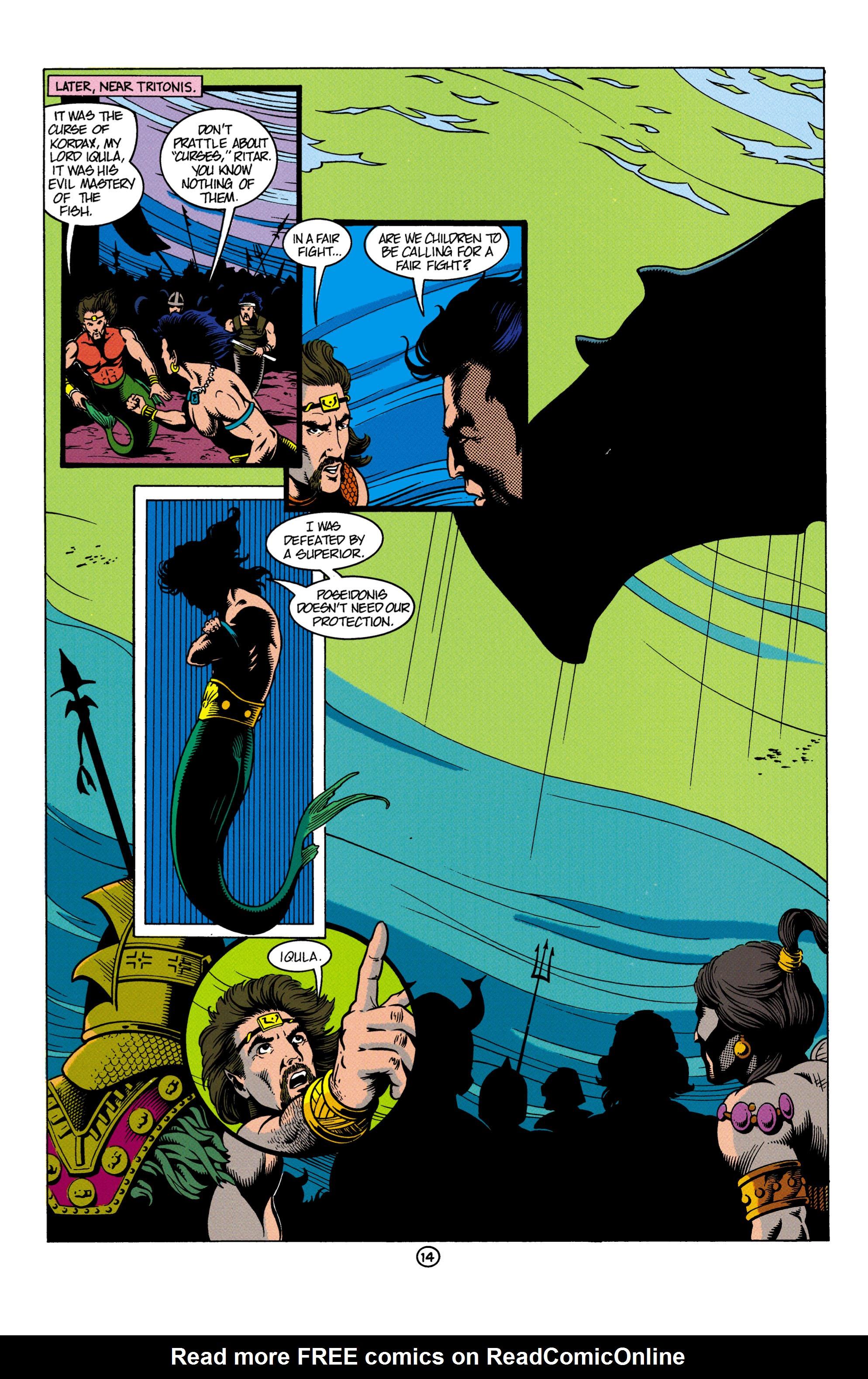 Read online Aquaman (1991) comic -  Issue #4 - 15