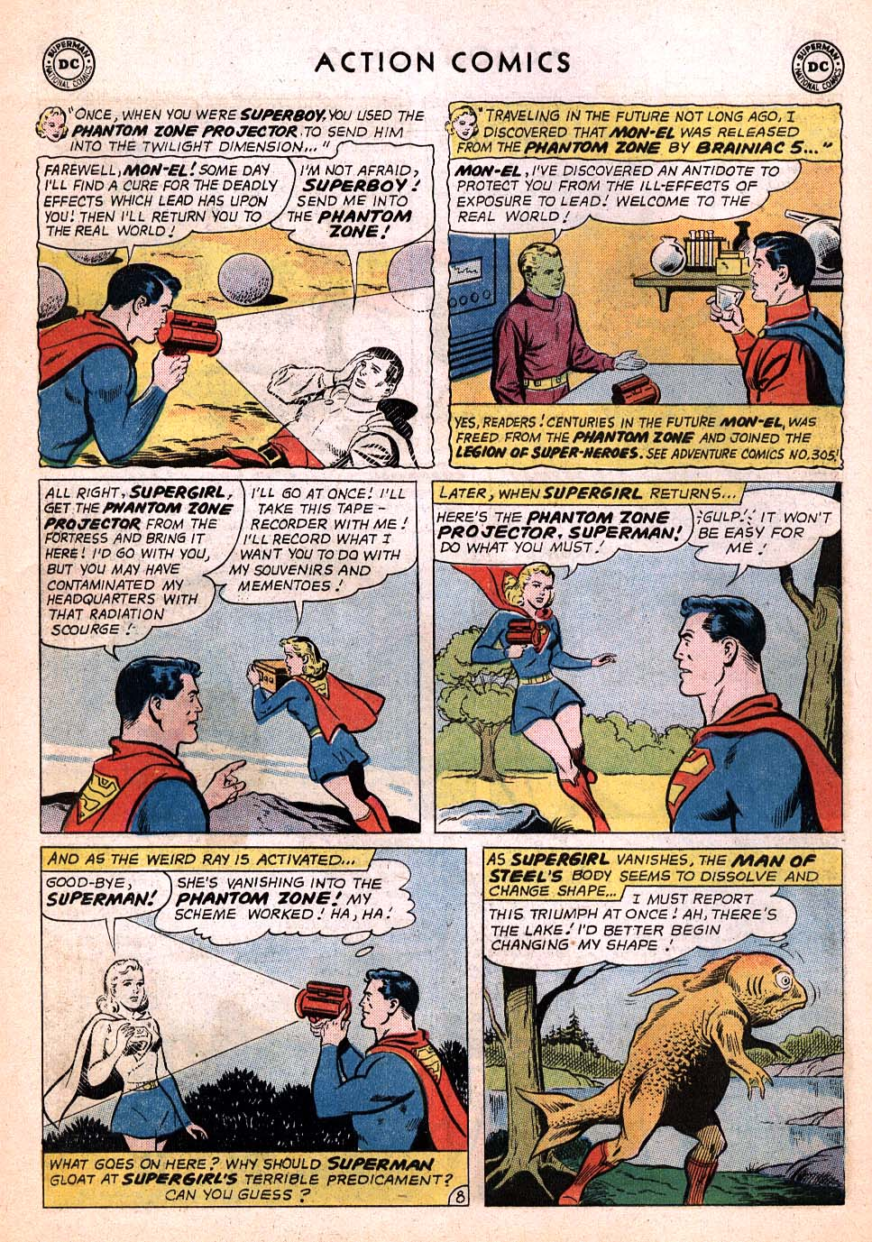 Read online Action Comics (1938) comic -  Issue #306 - 23