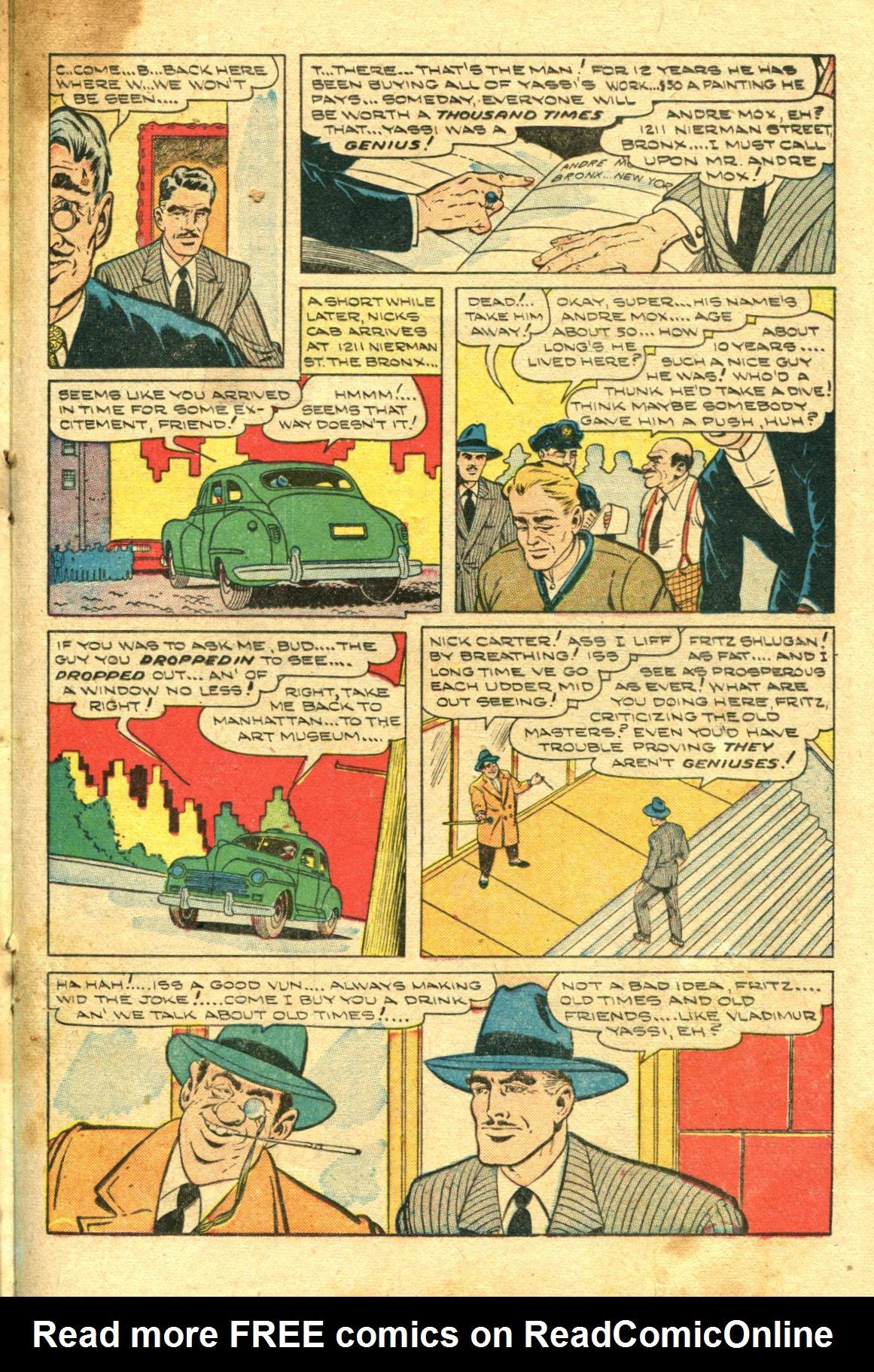 Read online Shadow Comics comic -  Issue #98 - 31