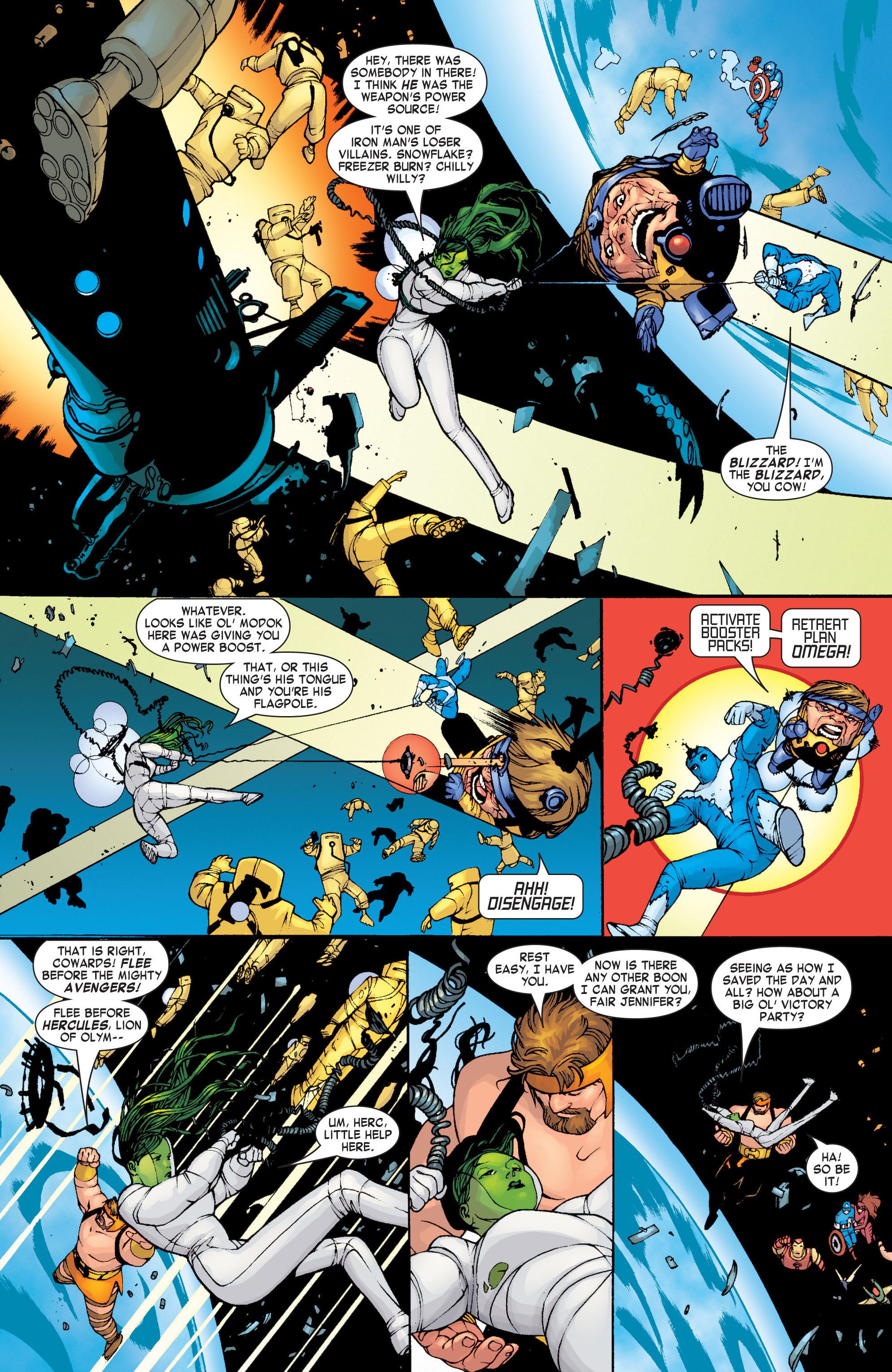 Read online She-Hulk (2004) comic -  Issue #1 - 11