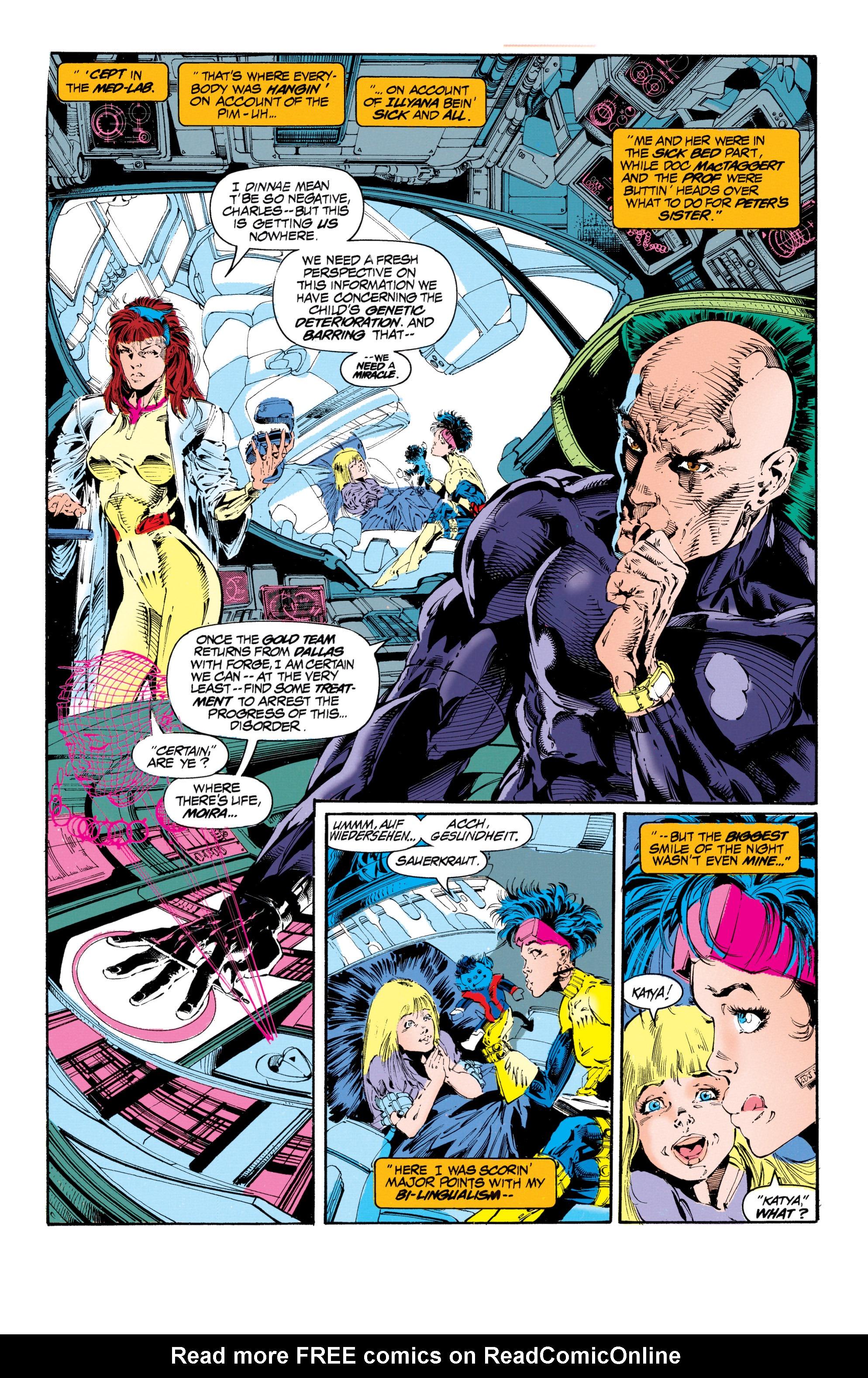Read online Uncanny X-Men (1963) comic -  Issue #303 - 6