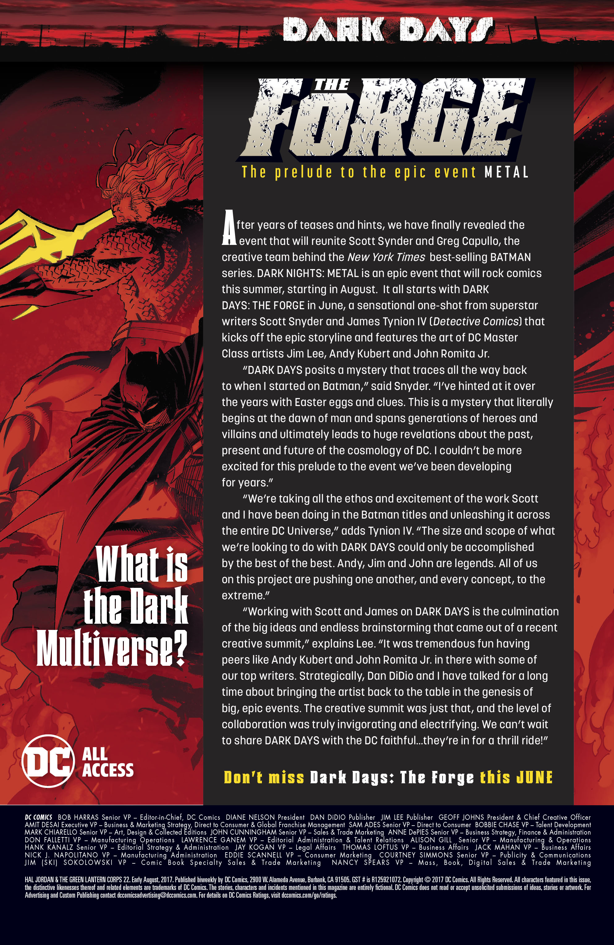Read online Hal Jordan And The Green Lantern Corps comic -  Issue #22 - 23