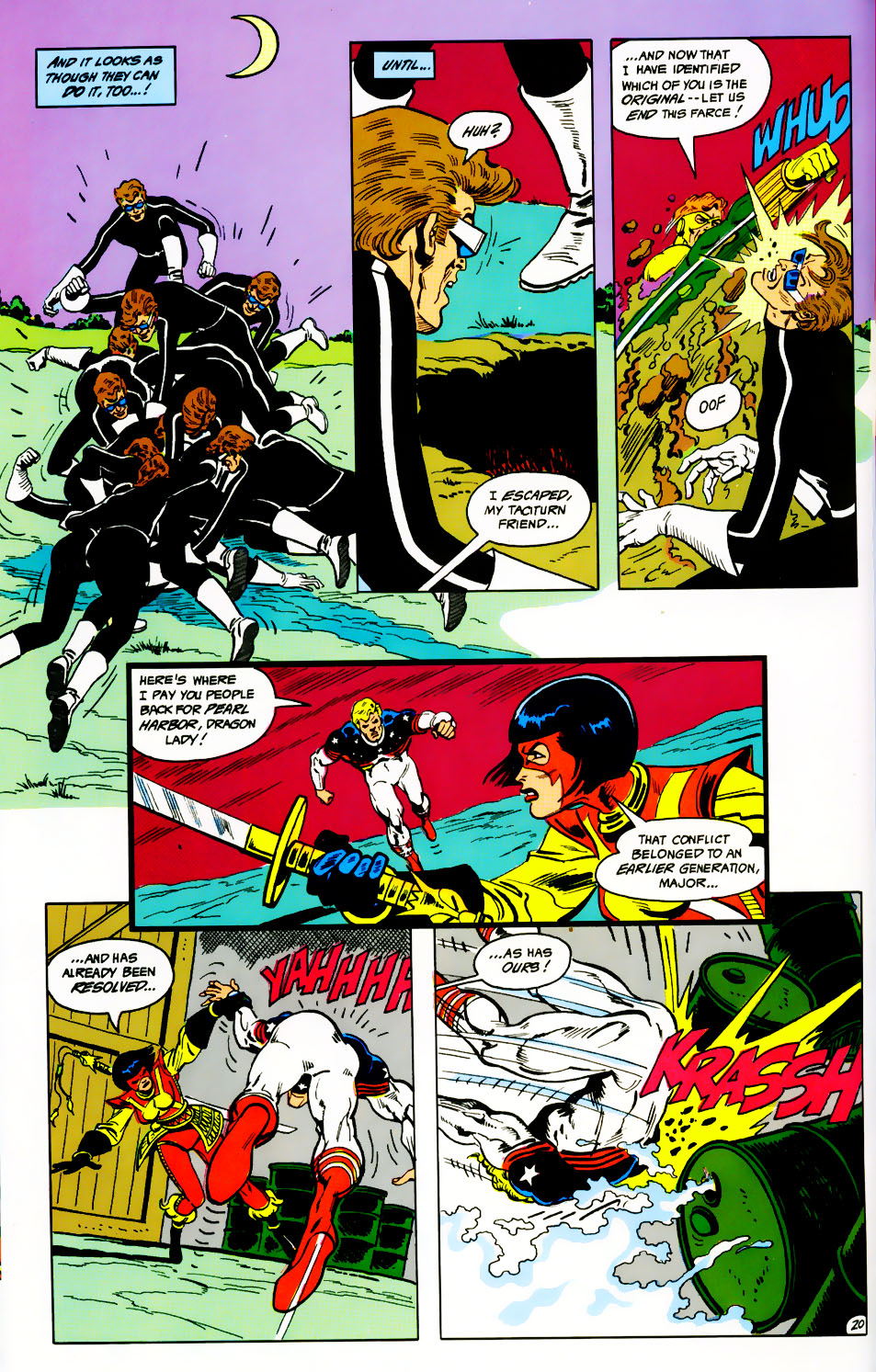Read online Adventures of the Outsiders comic -  Issue #41 - 21