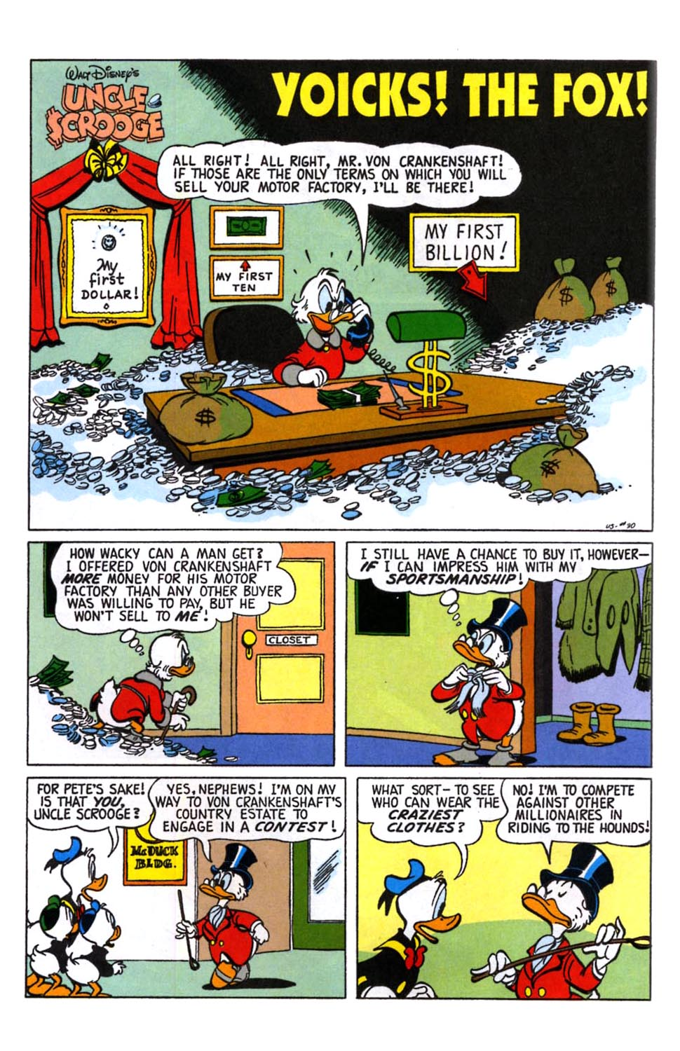 Read online Uncle Scrooge (1953) comic -  Issue #245 - 15