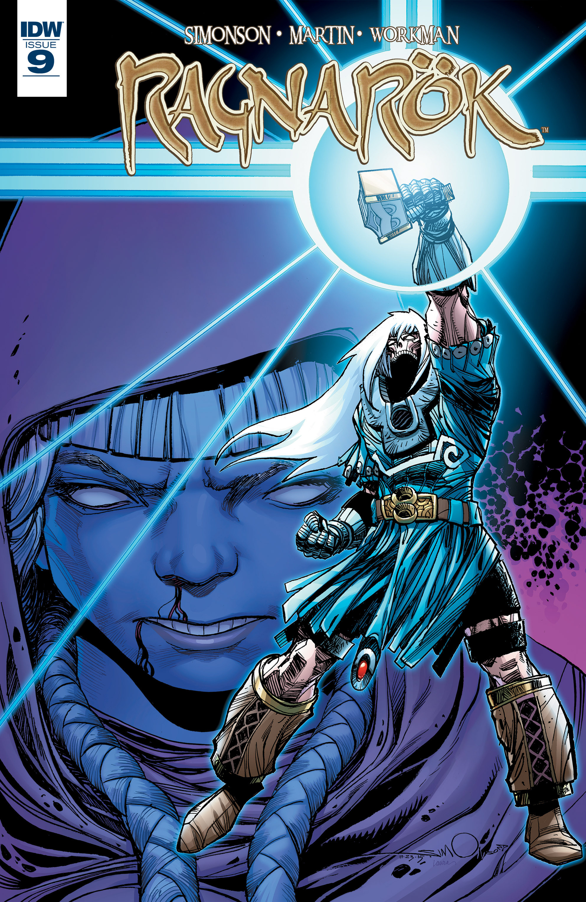 Read online Ragnarok comic -  Issue #9 - 1