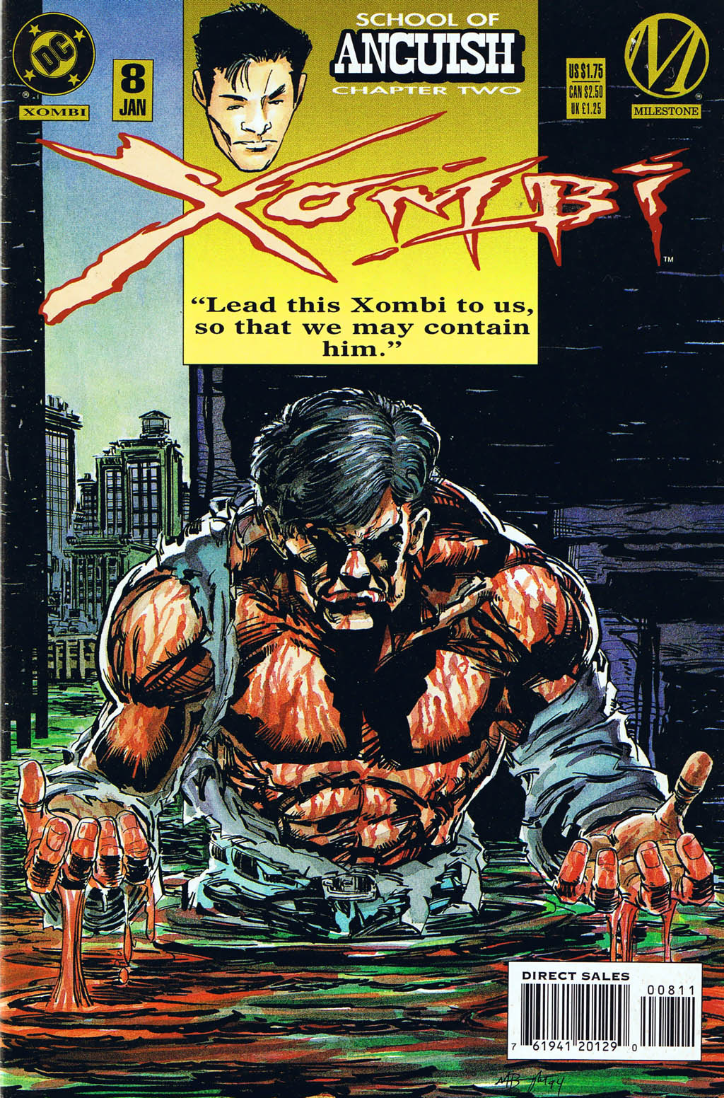 Xombi (1994) 8 Page 1