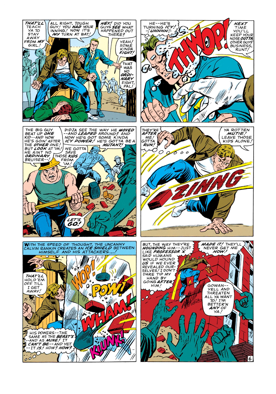 Read online Uncanny X-Men (1963) comic -  Issue #19 - 7