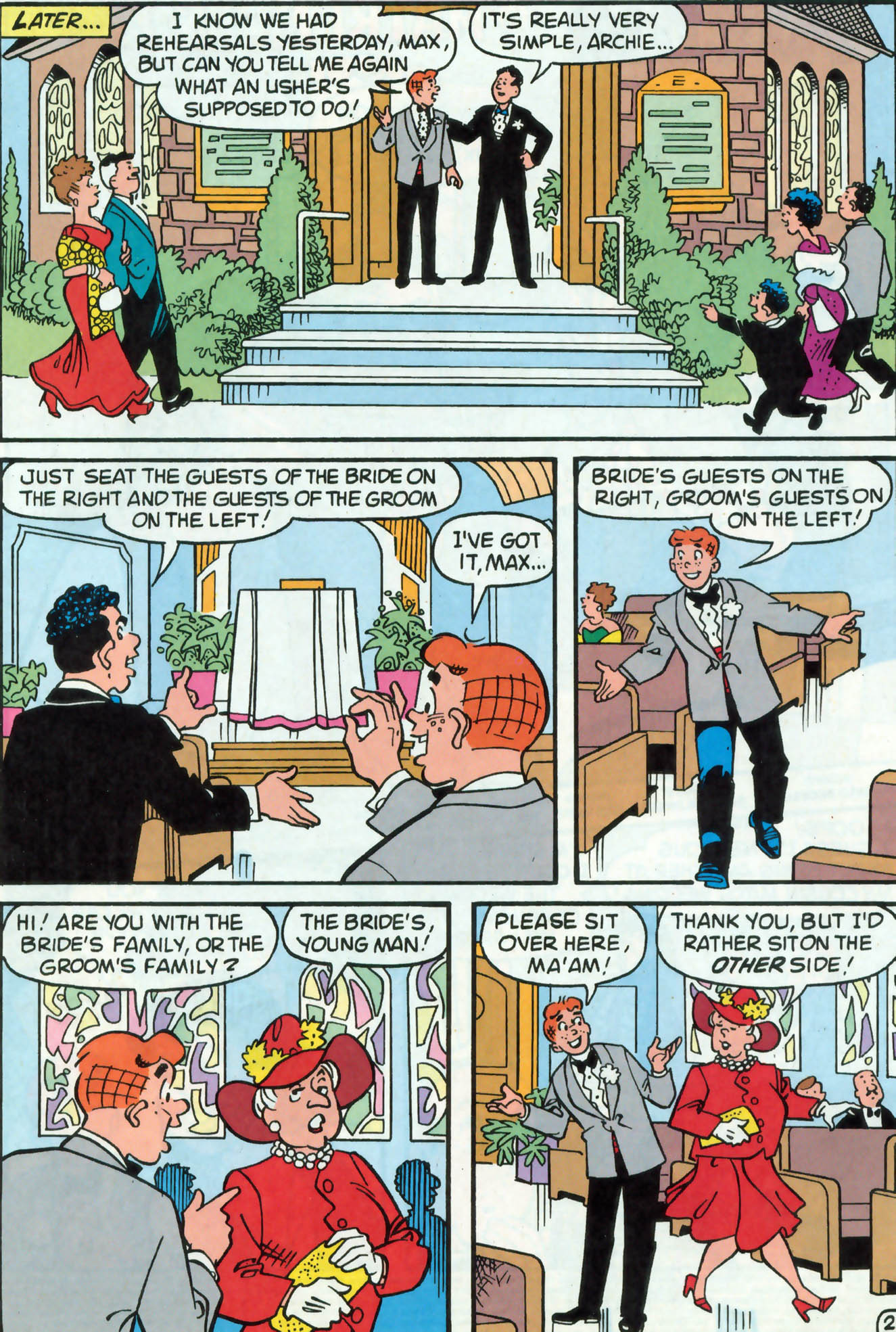 Read online Archie (1960) comic -  Issue #476 - 3