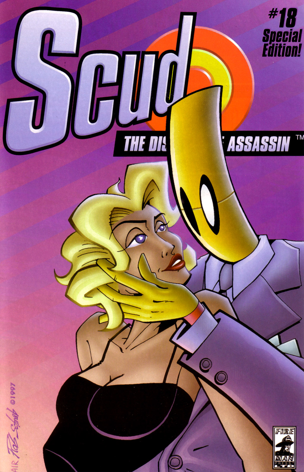 Scud: The Disposable Assassin (1994) issue 18 - Page 1