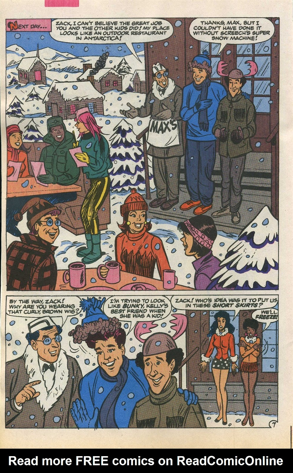 Read online Saved By The Bell comic -  Issue #1 - 12